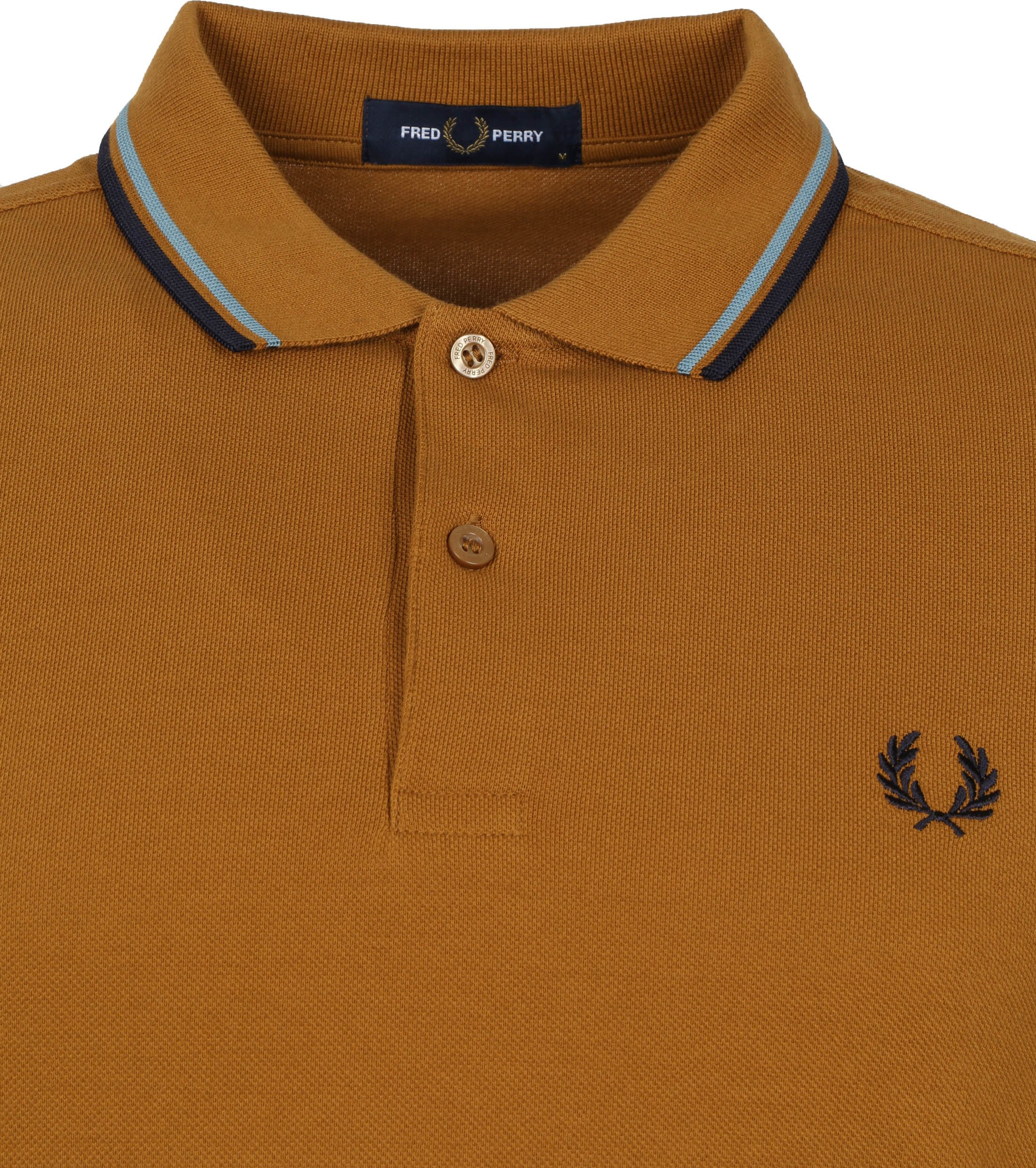 Fred Perry Polo M3600 Caramel Bruin