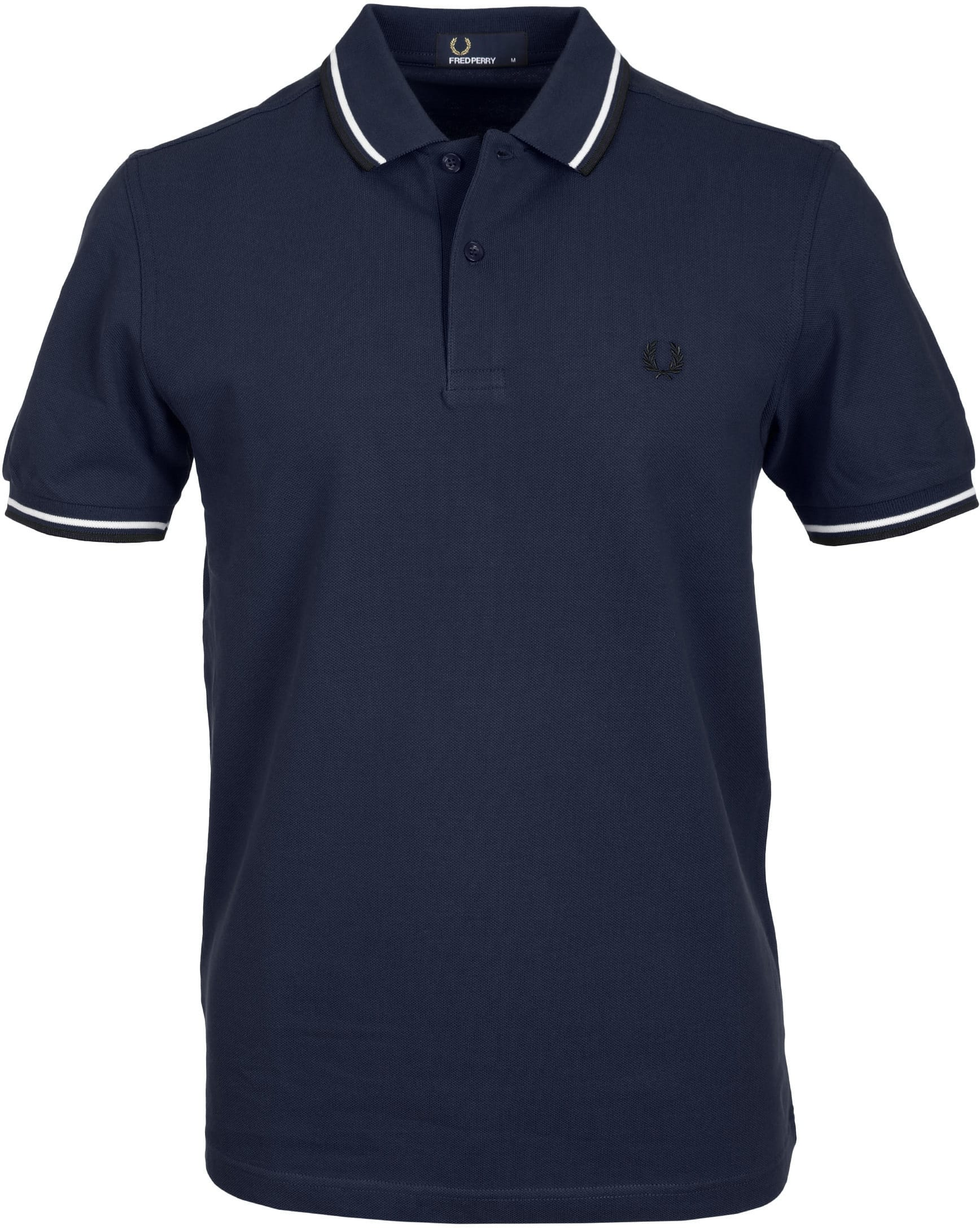 Fred Perry Polo Navy F66 foto 0