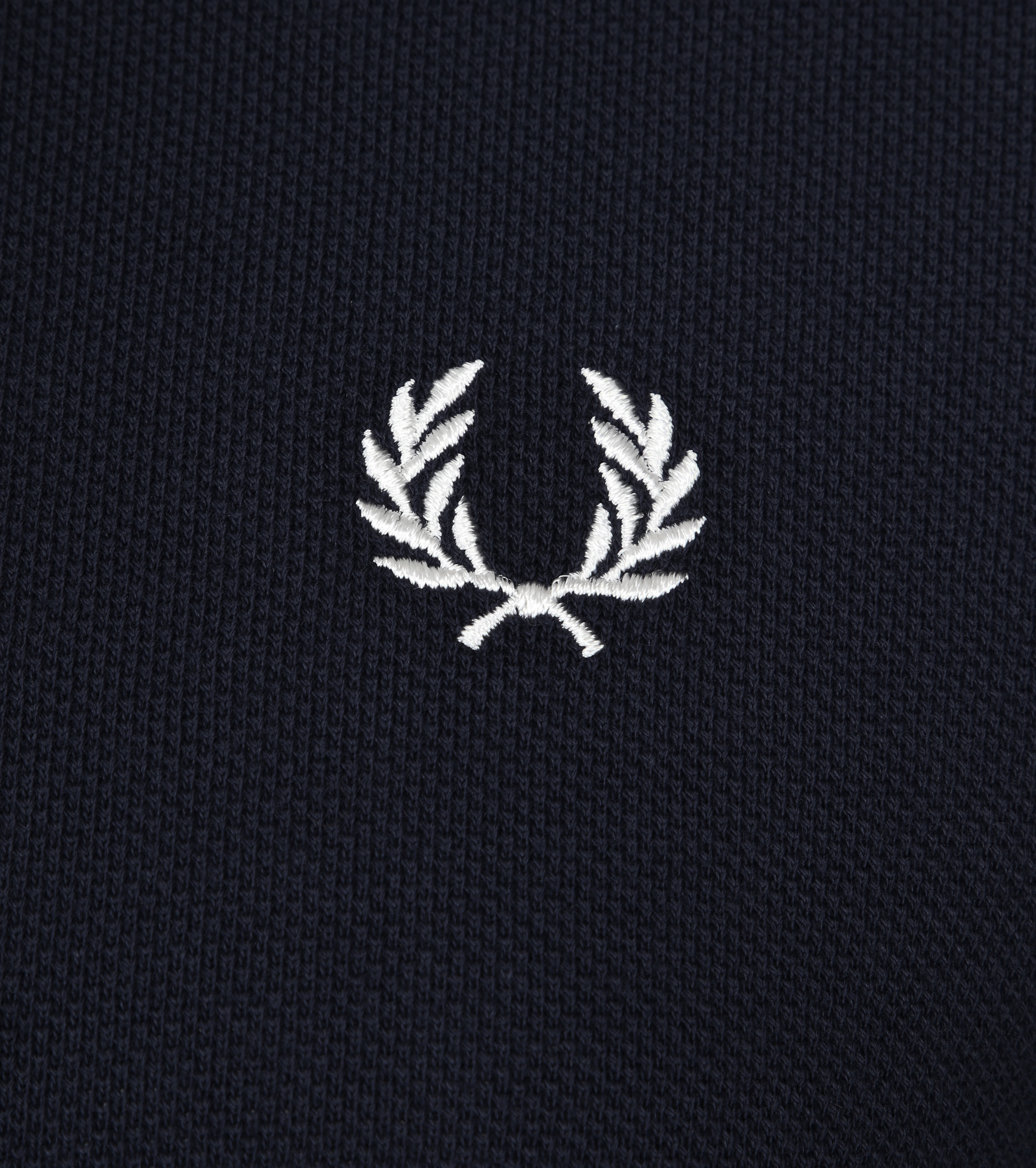 Fred Perry Polo Navy White Foto 1