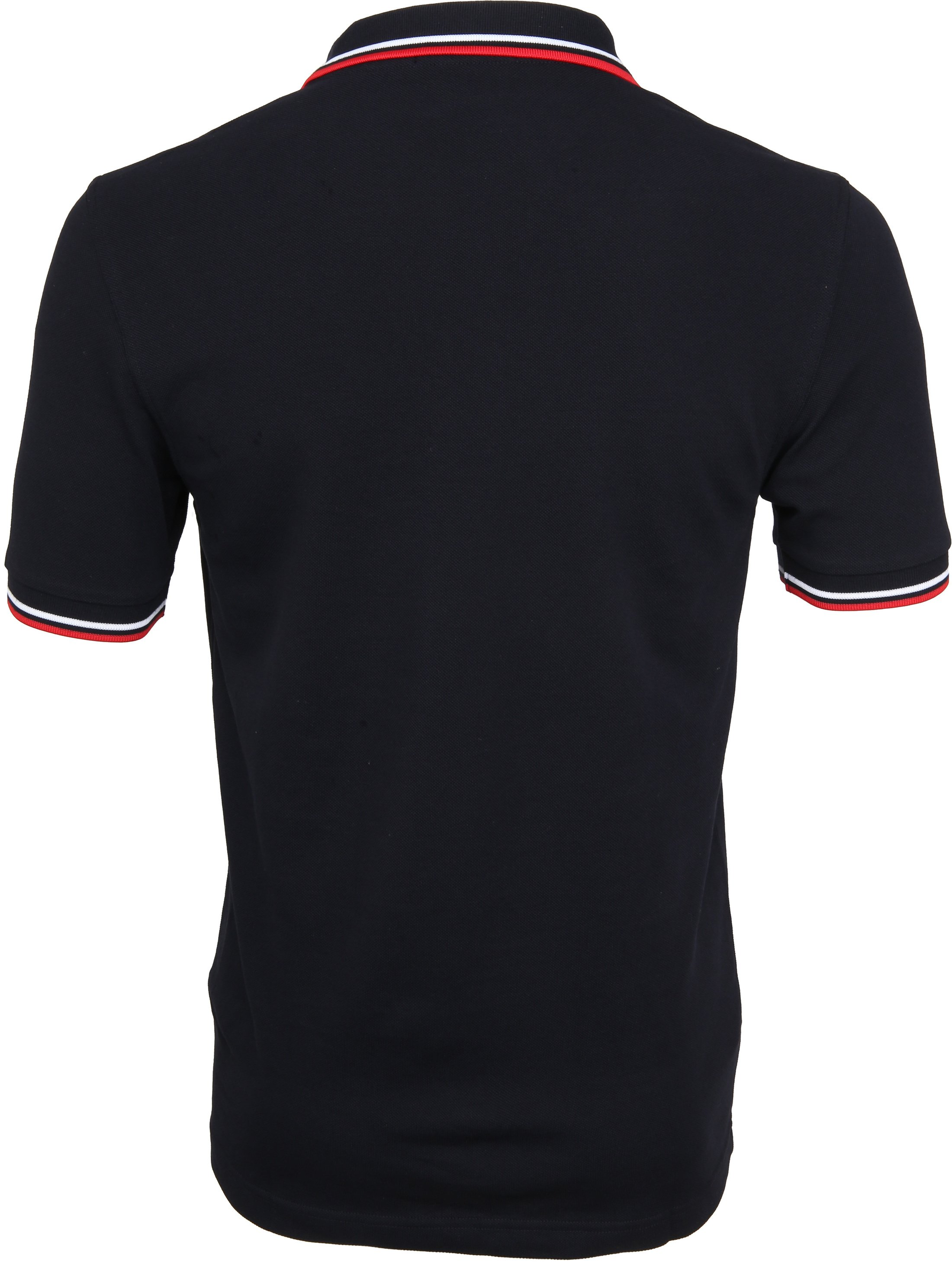 Fred Perry Polo Navy White Red foto 3