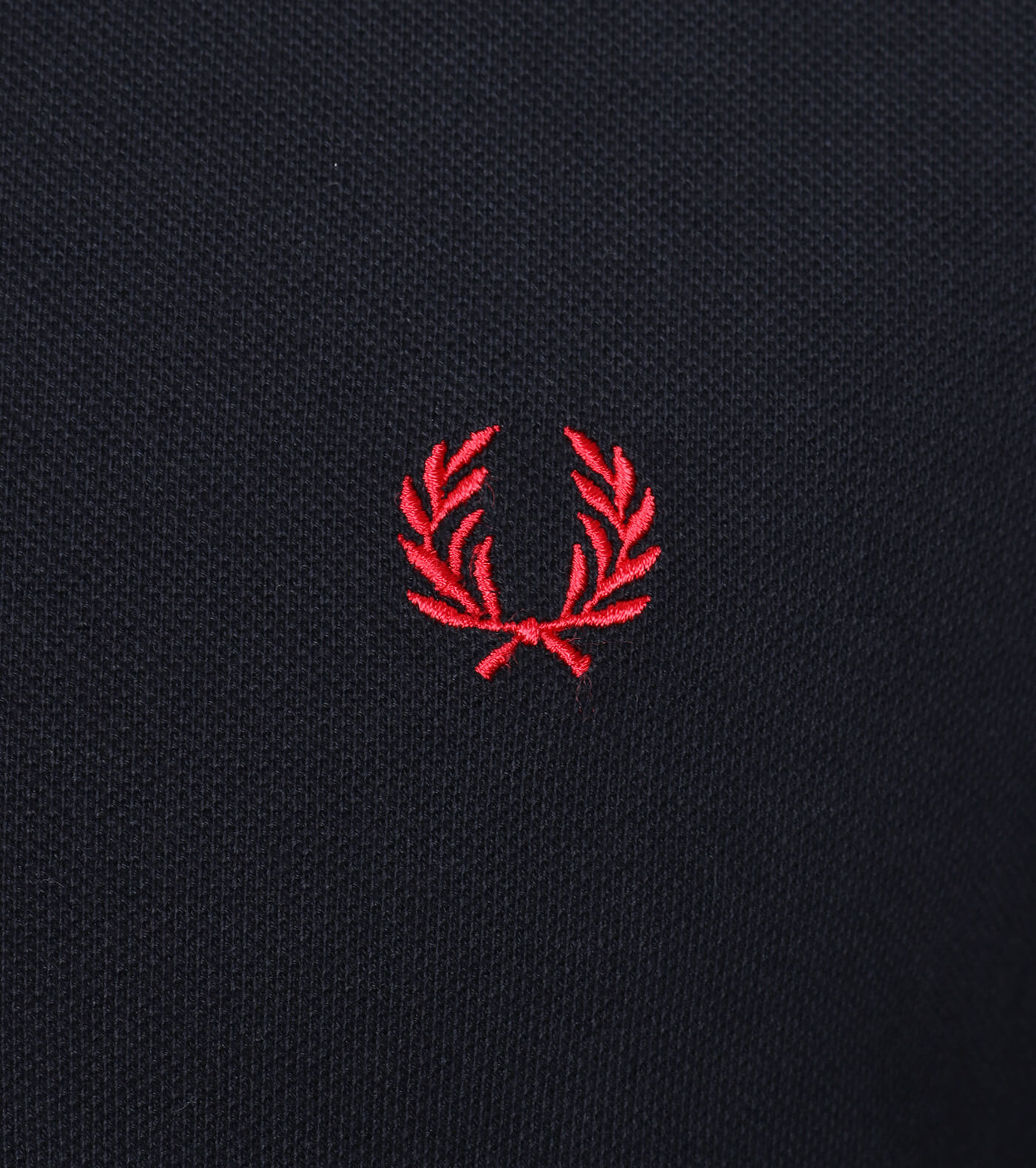 Fred Perry Polo Navy White Red foto 2