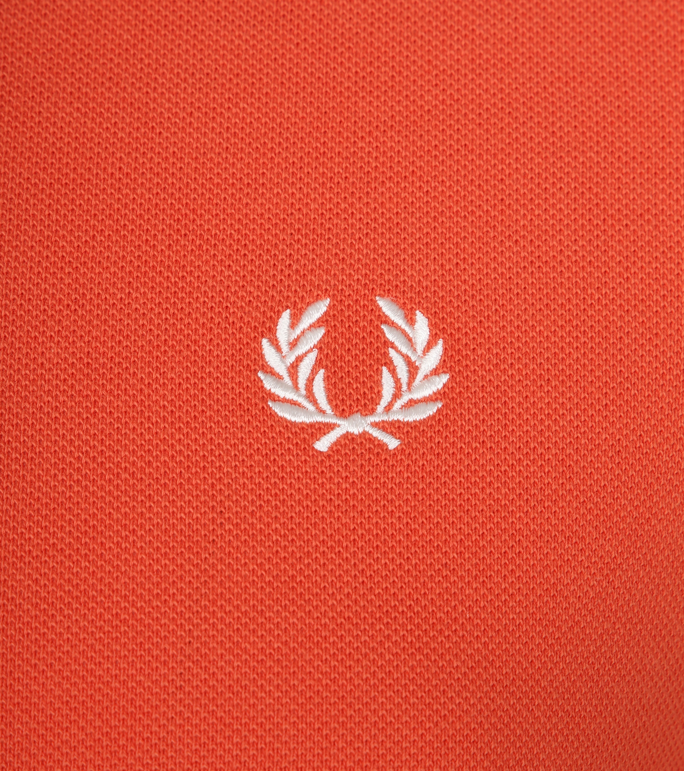 Fred Perry Polo Oranje G93 foto 1