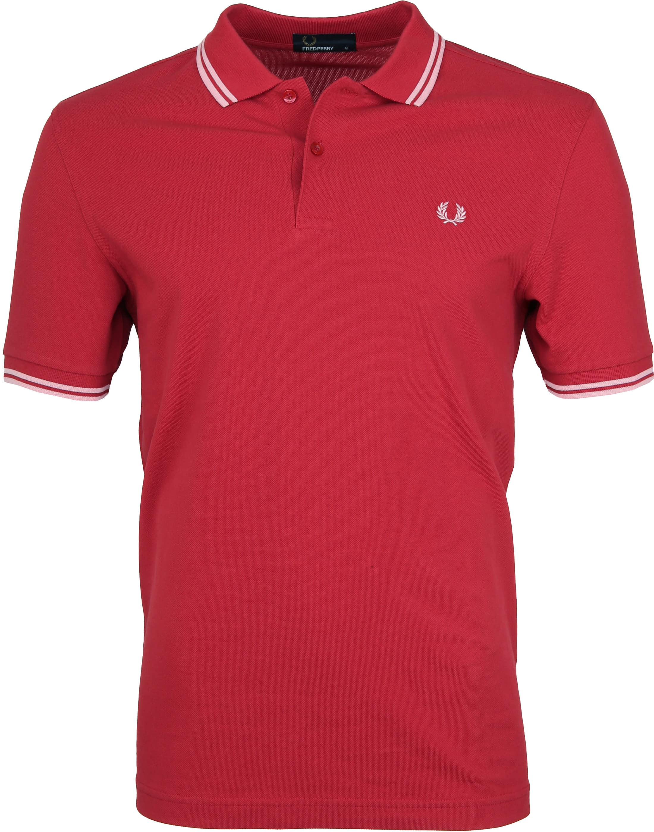 Fred Perry Polo Rood 541 foto 0