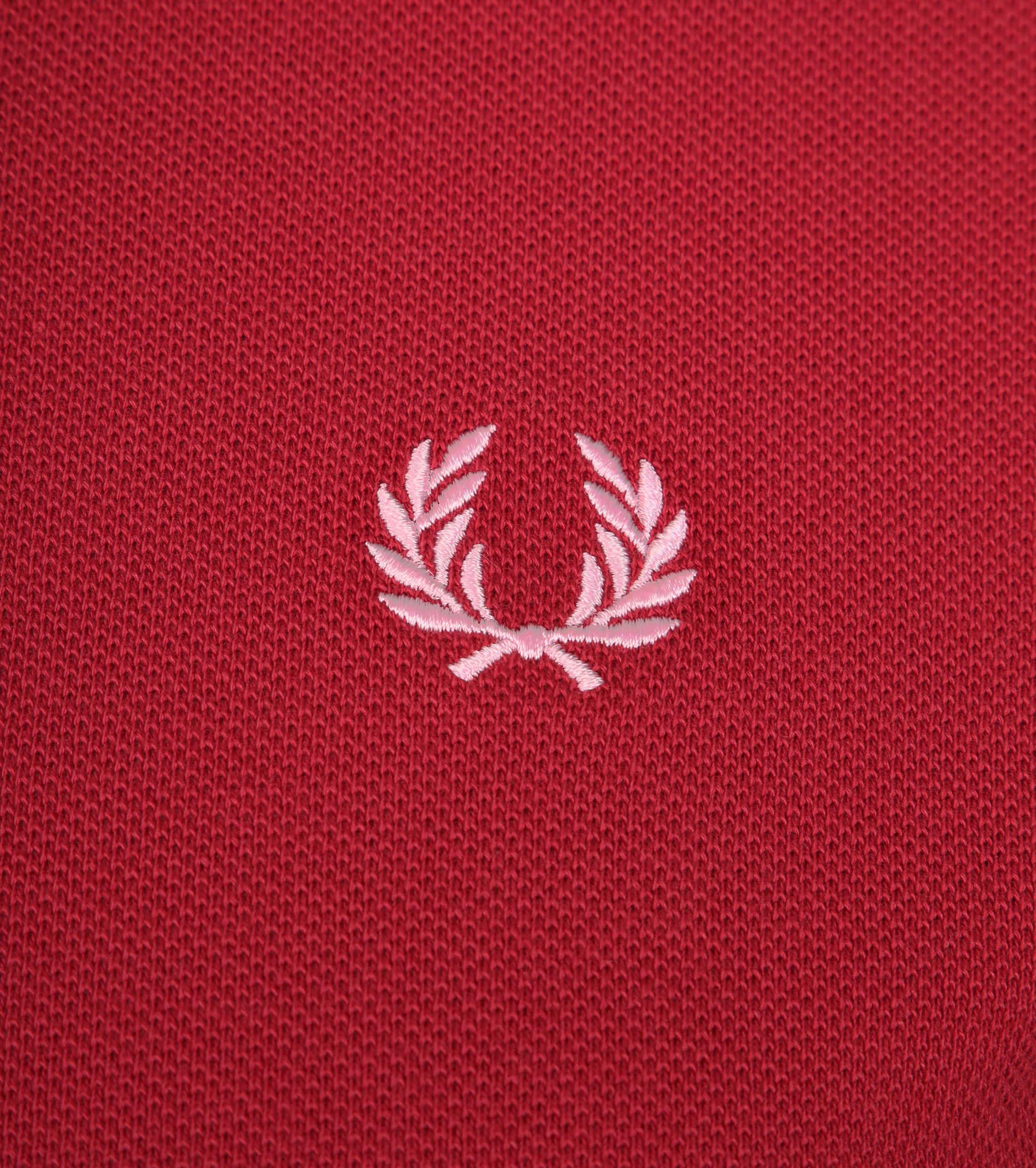 Fred Perry Polo Rood 541 foto 1