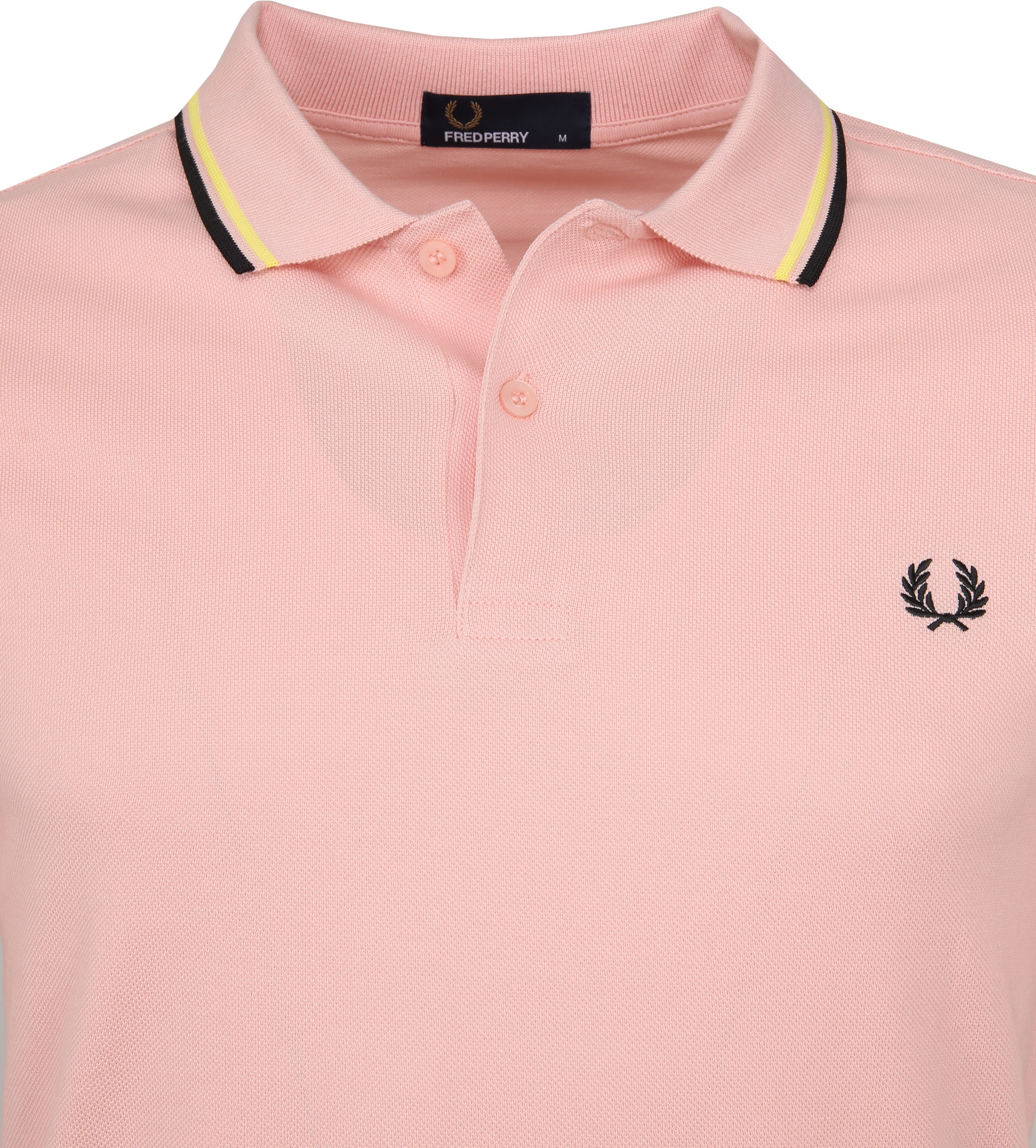 Fred Perry Polo Roze 457 foto 1