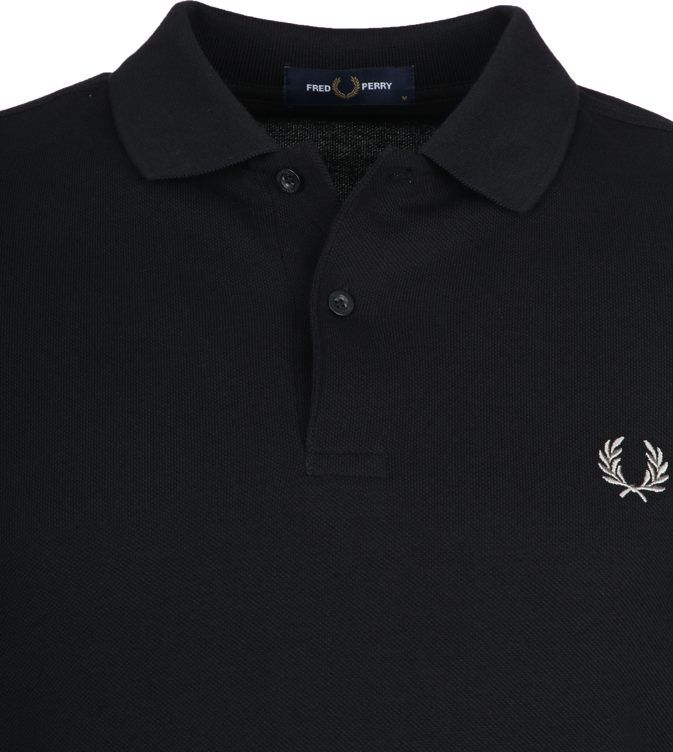 Fred Perry Polo Shirt Black 906