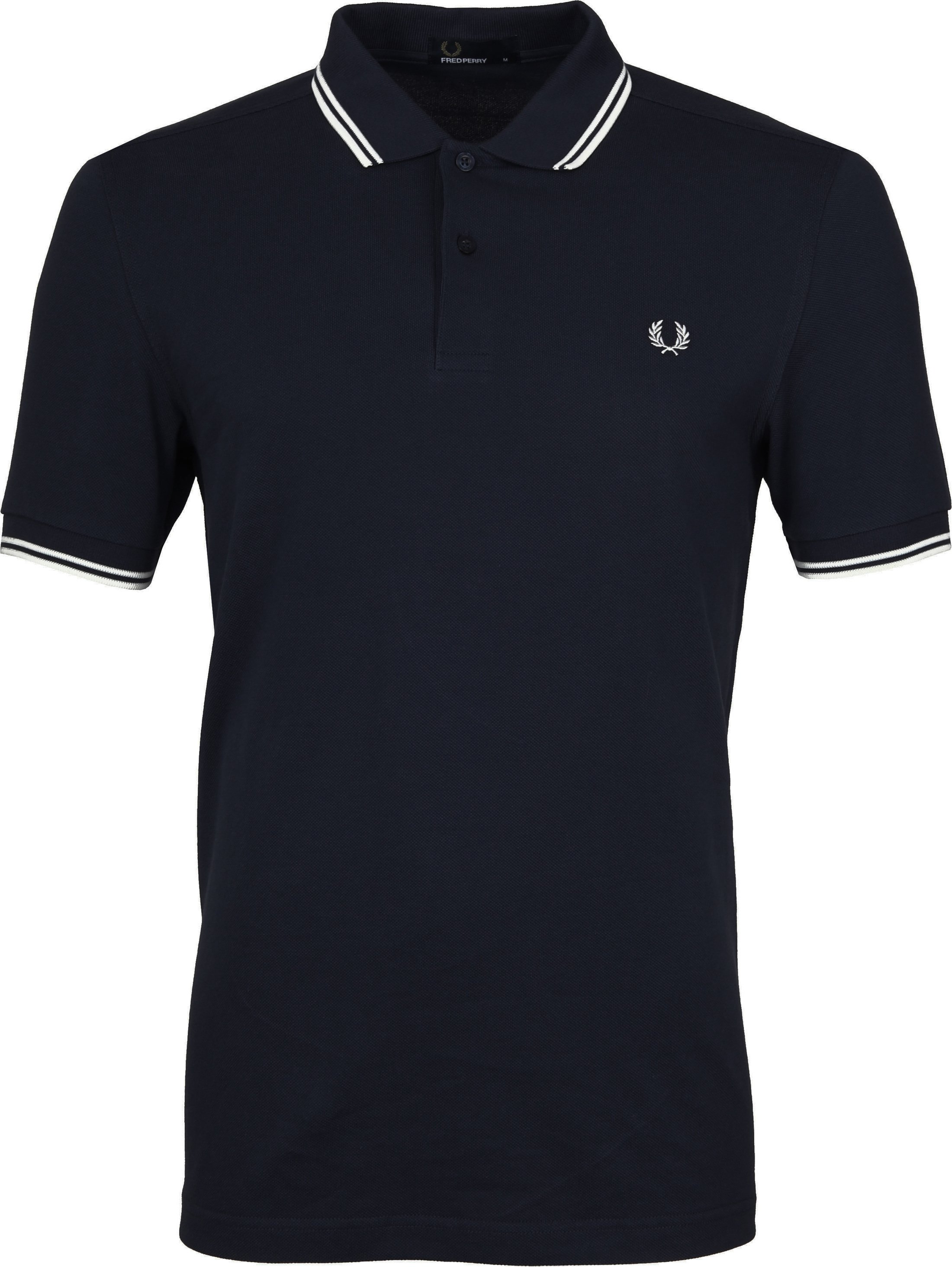 Fred Perry Polo Shirt Navy White photo 0