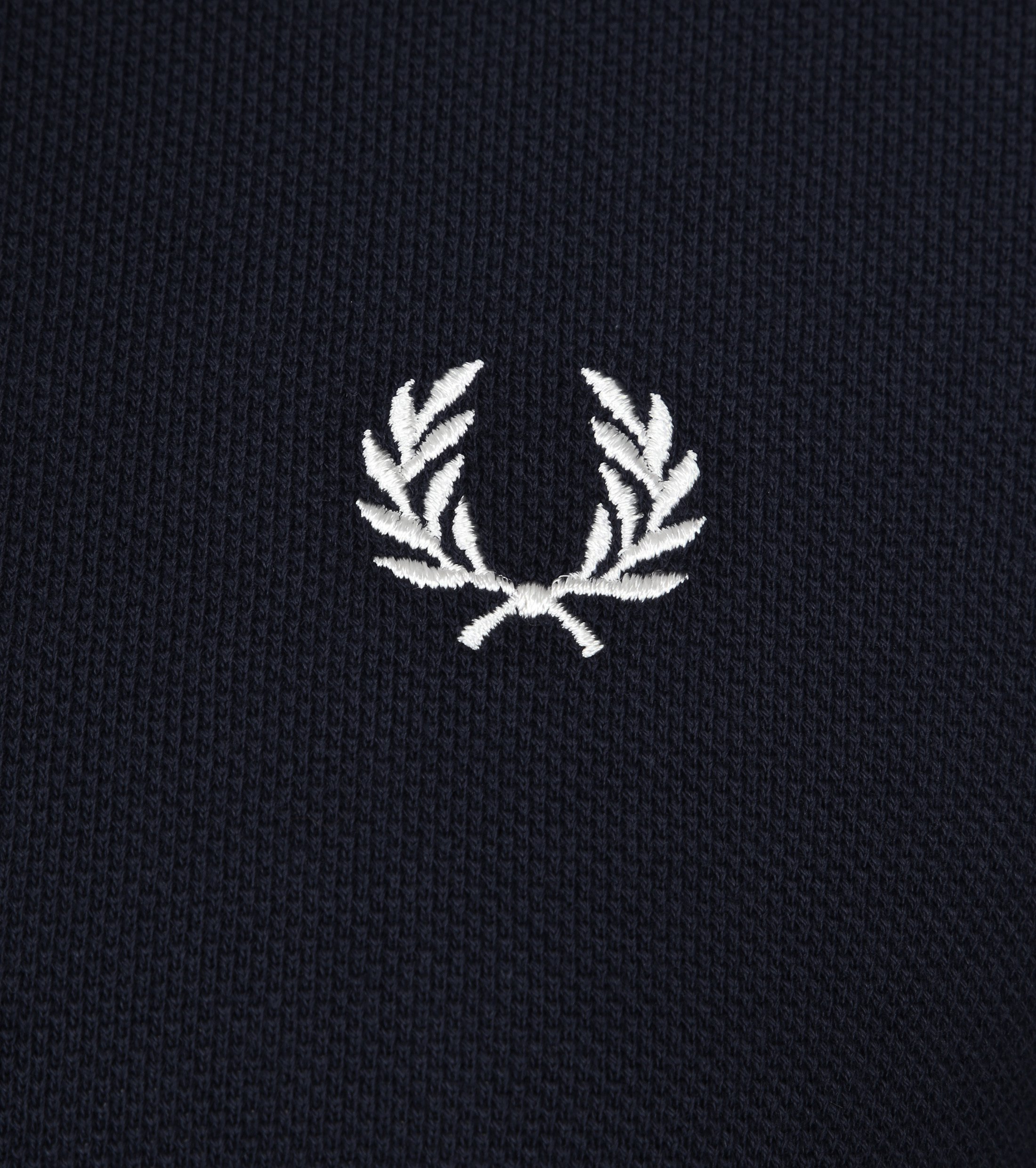 Fred Perry Polo Shirt Navy White foto 1