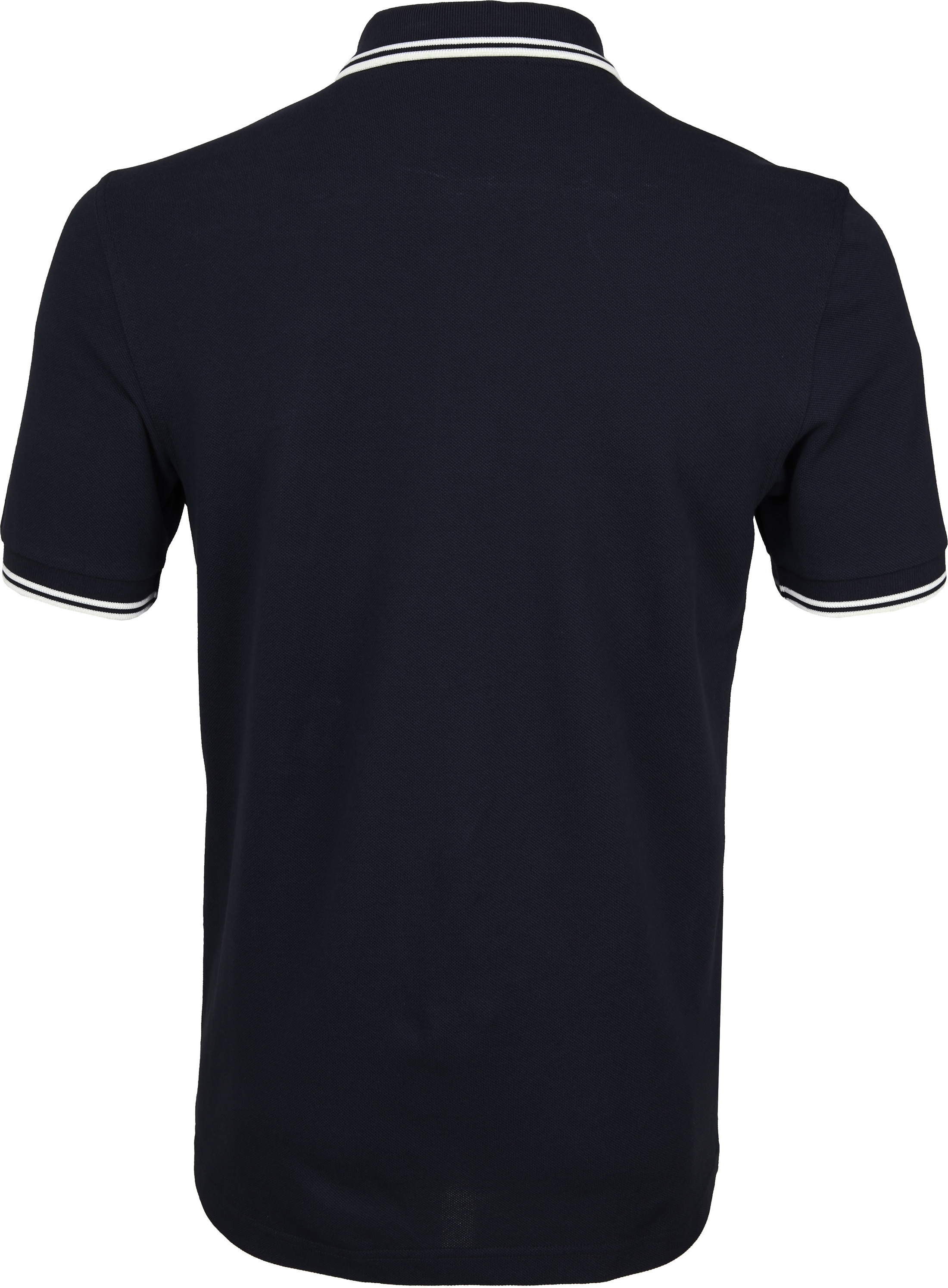 Fred Perry Polo Shirt Navy White photo 2