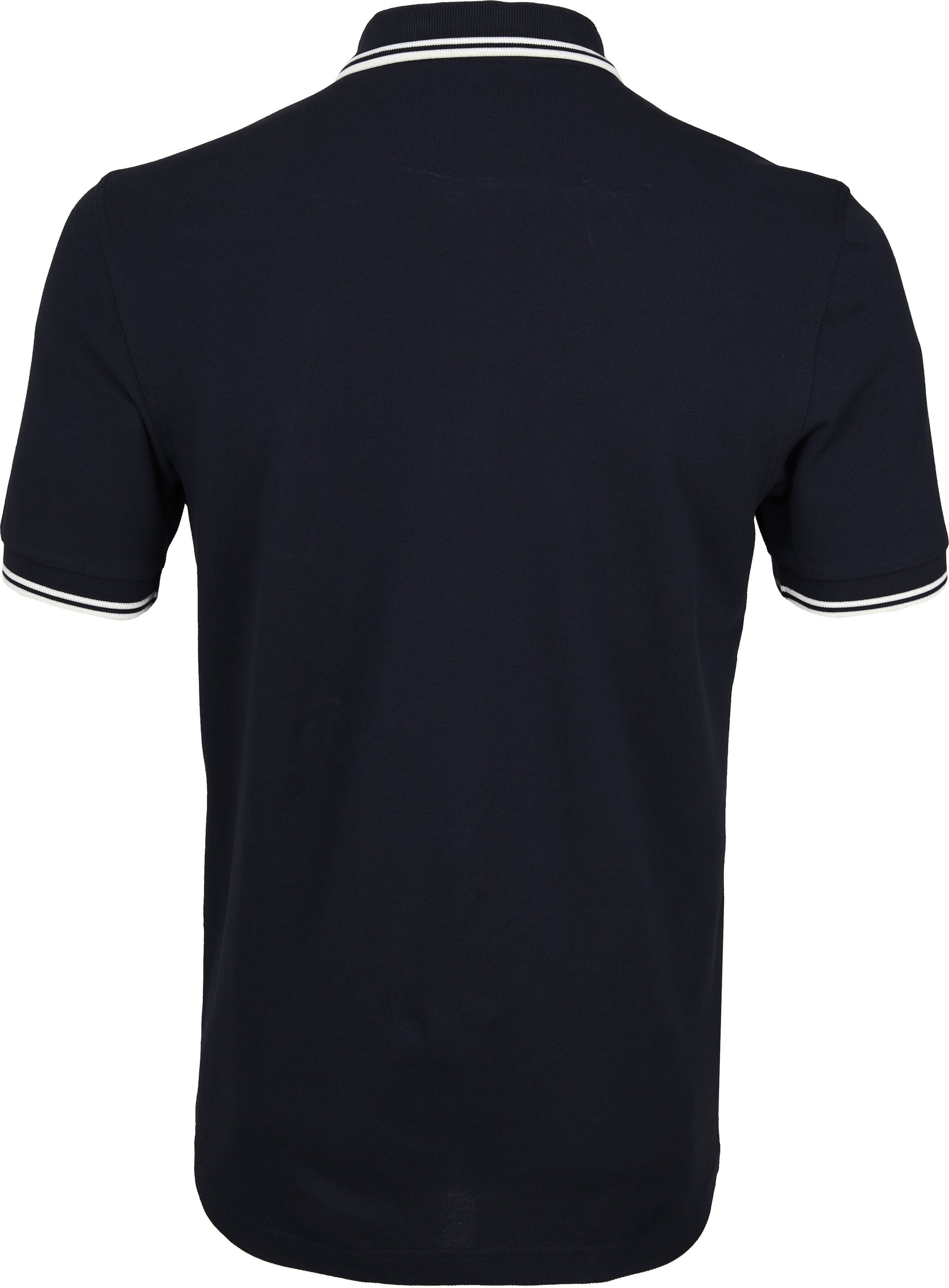 Fred Perry Polo Shirt Navy White foto 2