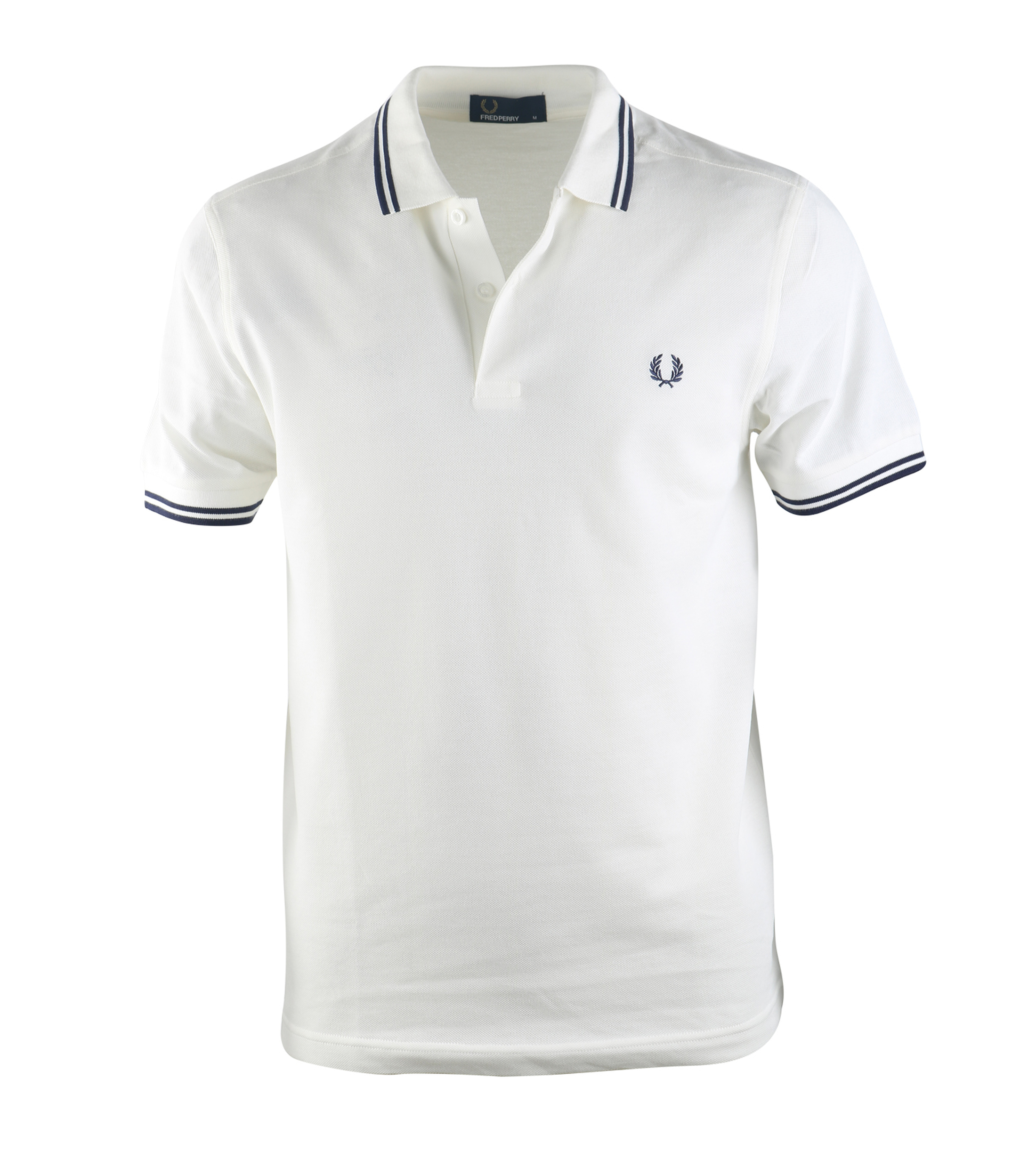 Fred Perry Polo Snow White C84 foto 0