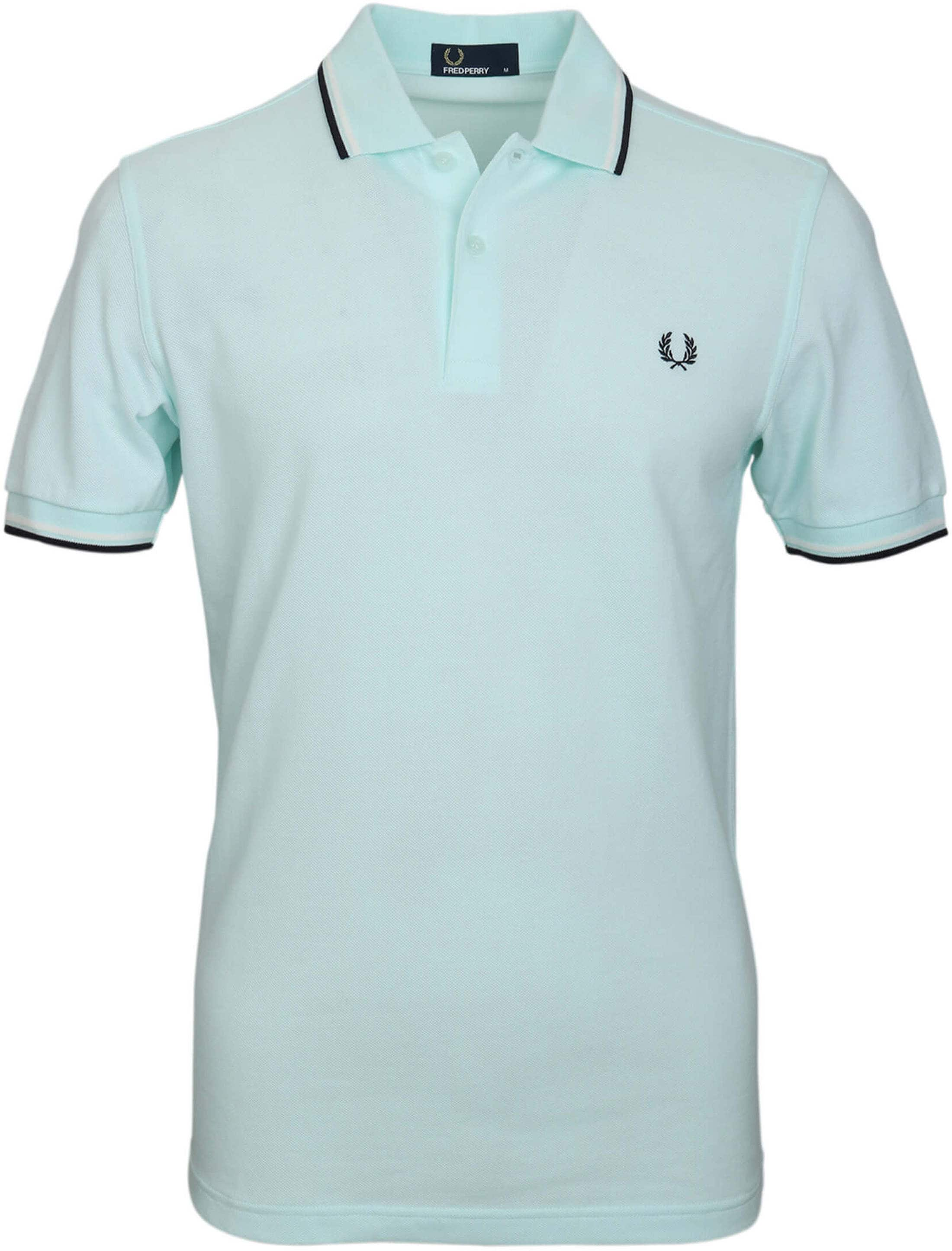 Fred Perry Polo Turquoise F27 foto 0