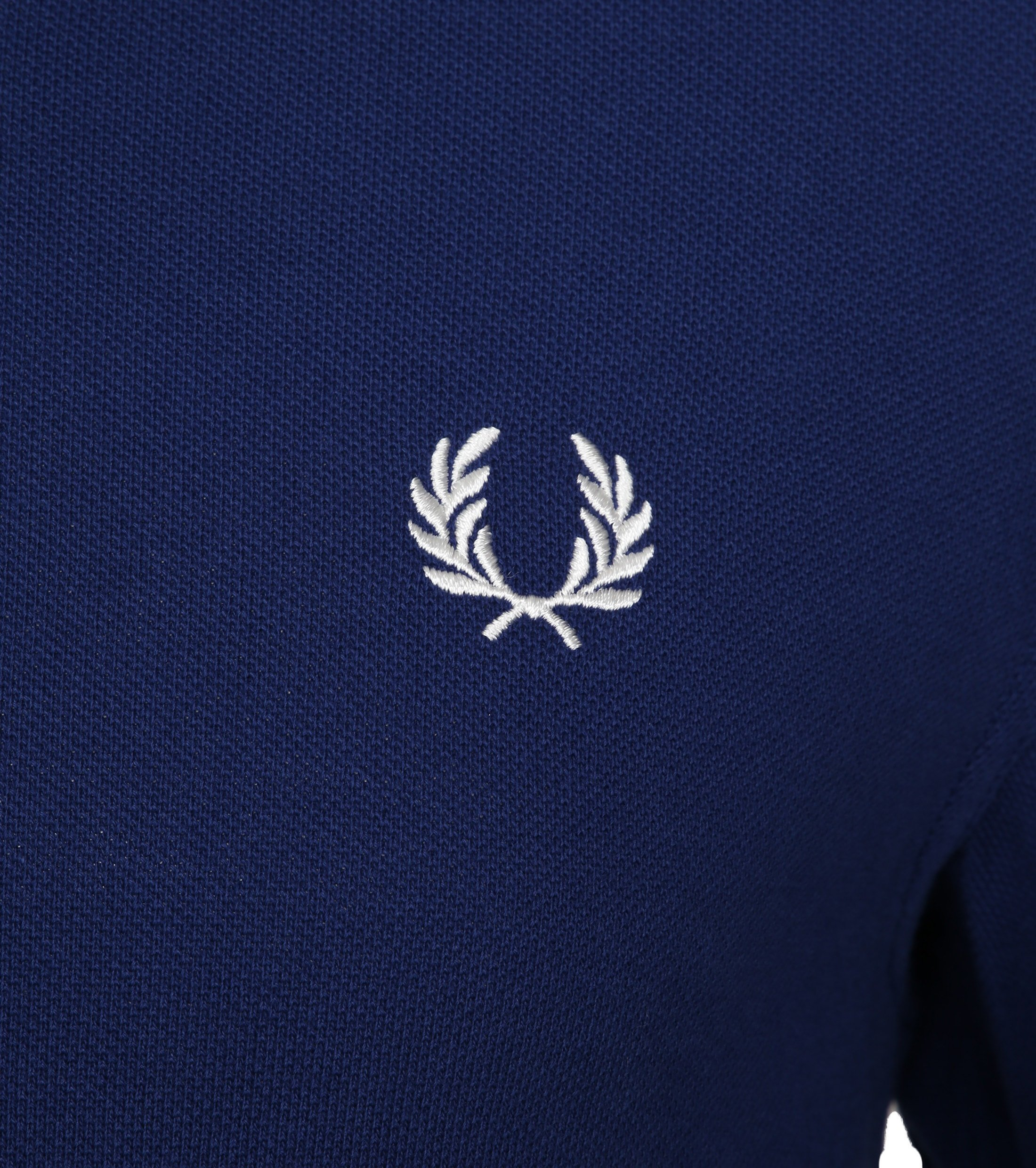 Fred Perry Polo Twin Tipped Blauw I71 foto 1