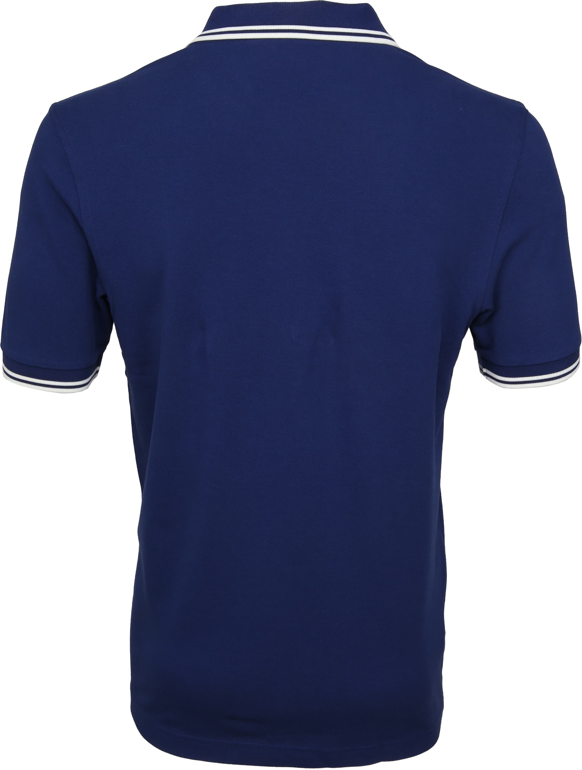 Fred Perry Polo Twin Tipped Blauw I71 foto 3