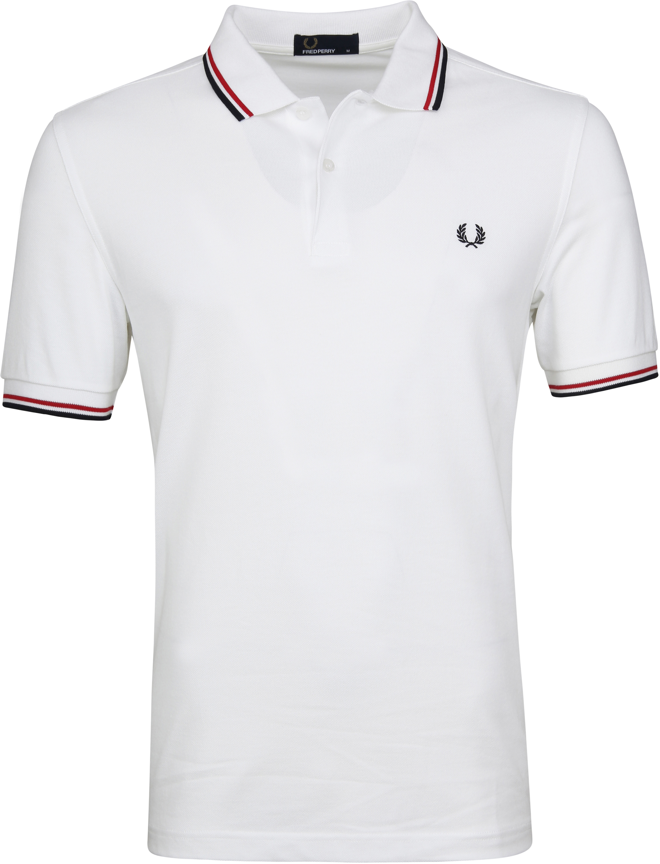 Fred Perry Polo Weiß 748 foto 0