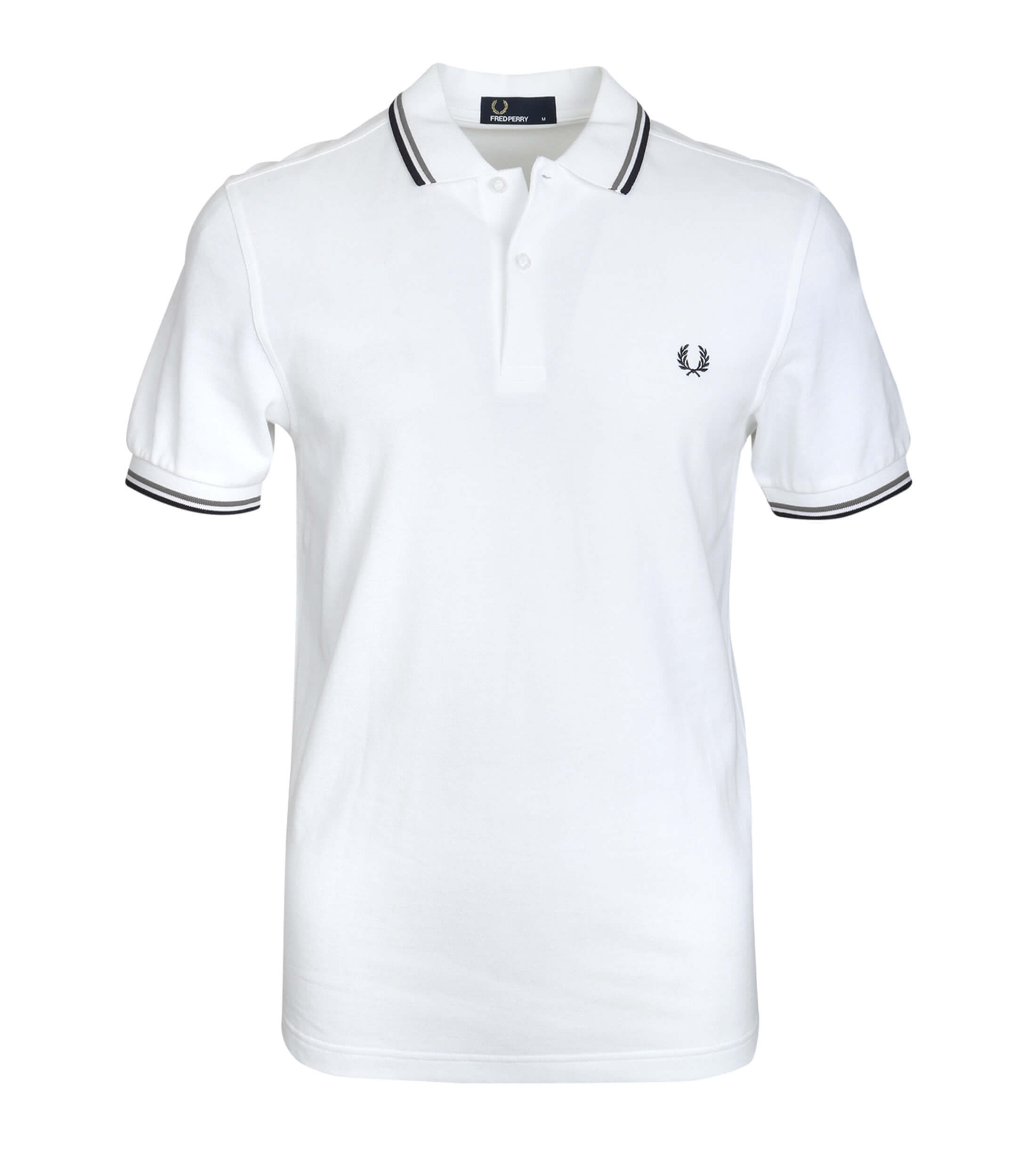 Fred Perry Polo Wit F28 foto 0