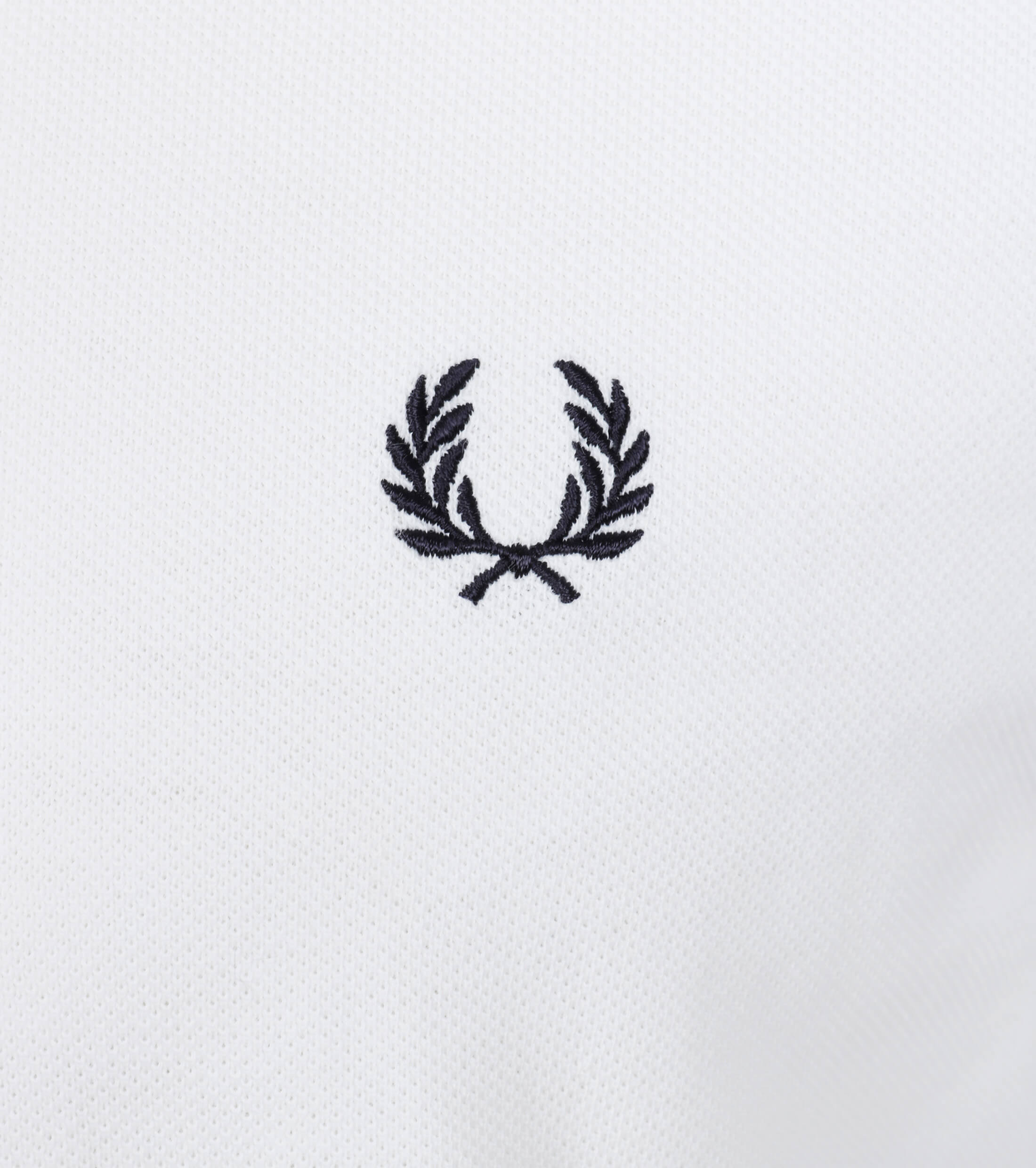 Fred Perry Polo Wit F28 foto 2