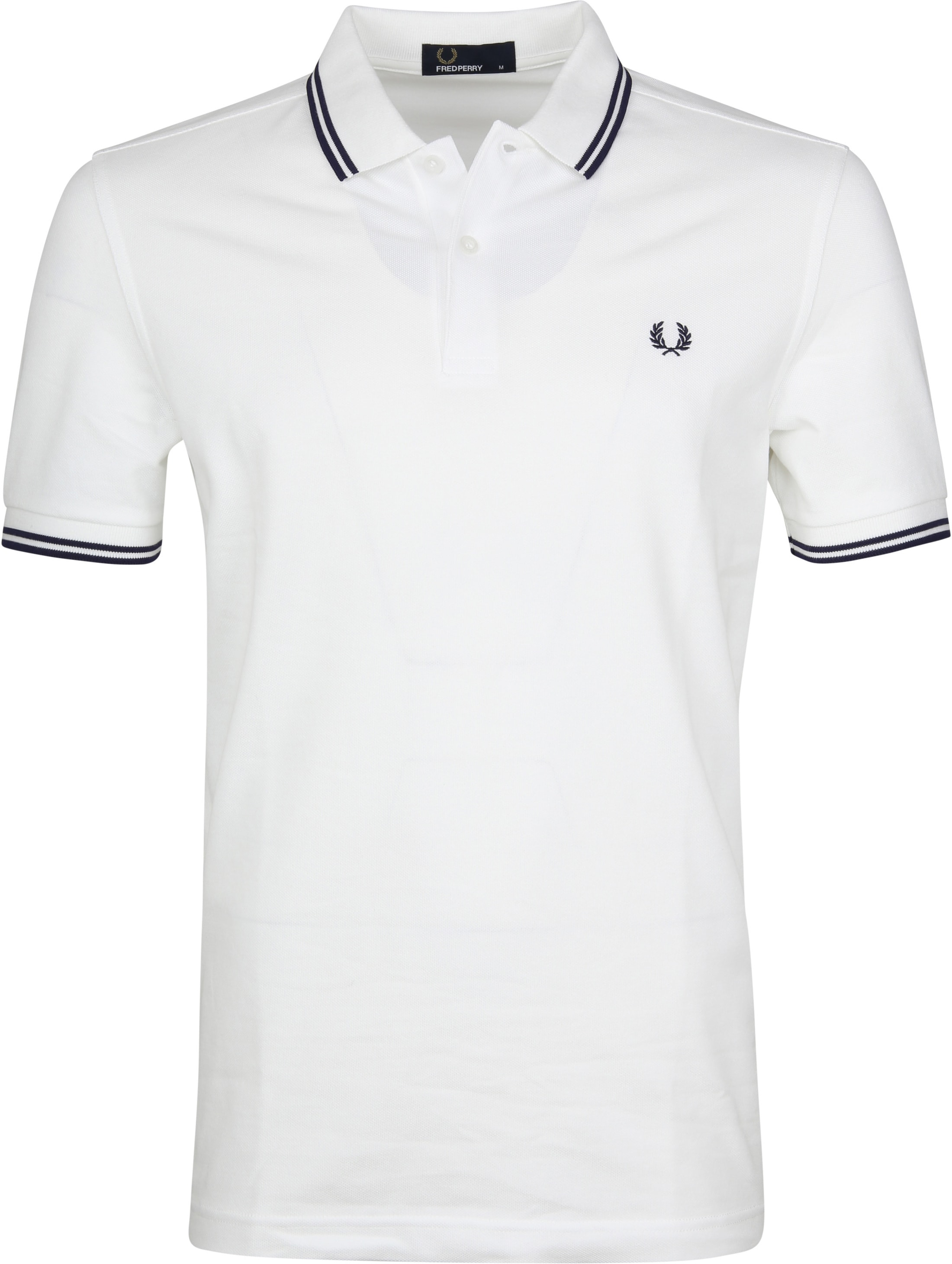Fred Perry Polo Wit I01 foto 0