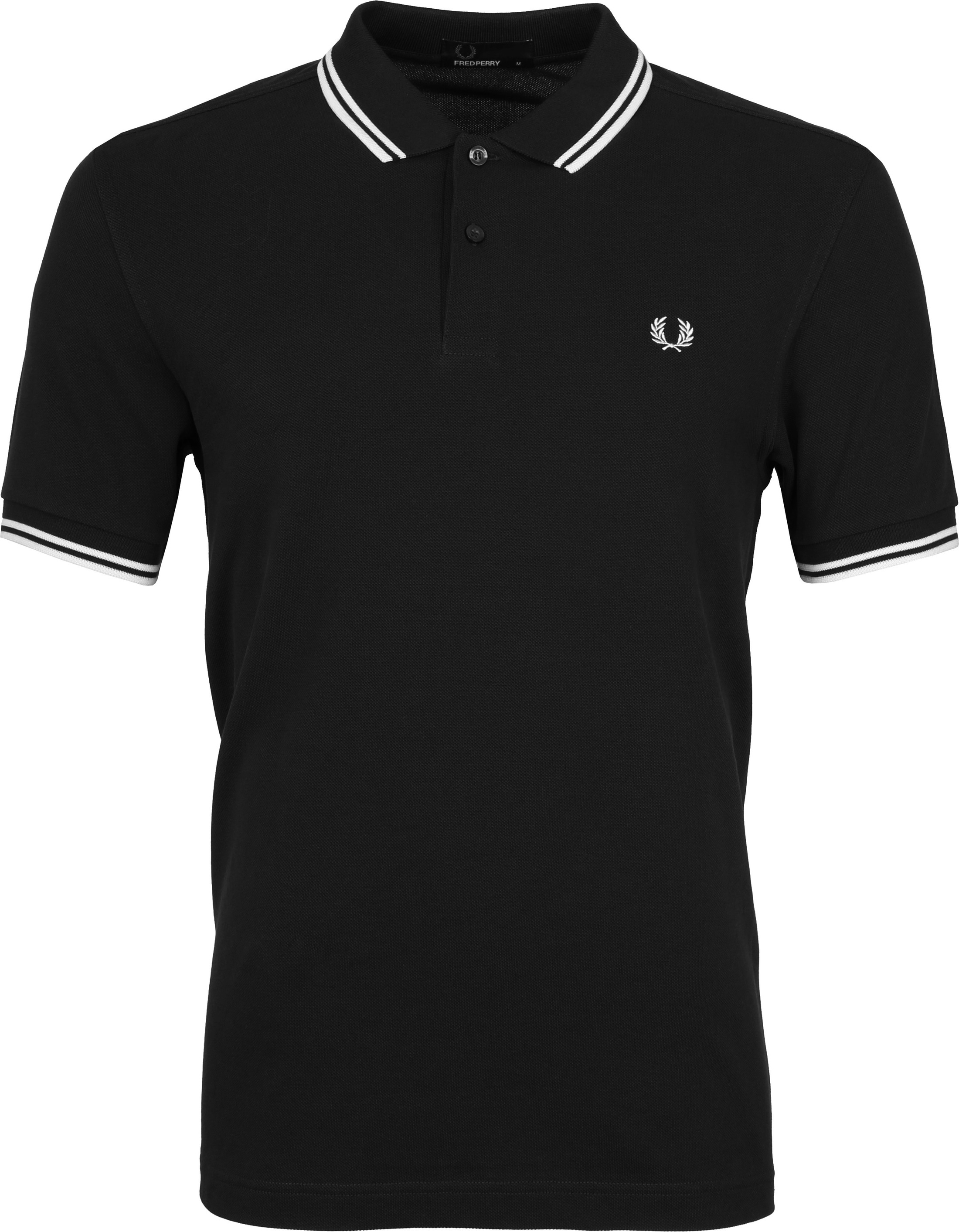 Fred Perry Polo Zwart 524 foto 0
