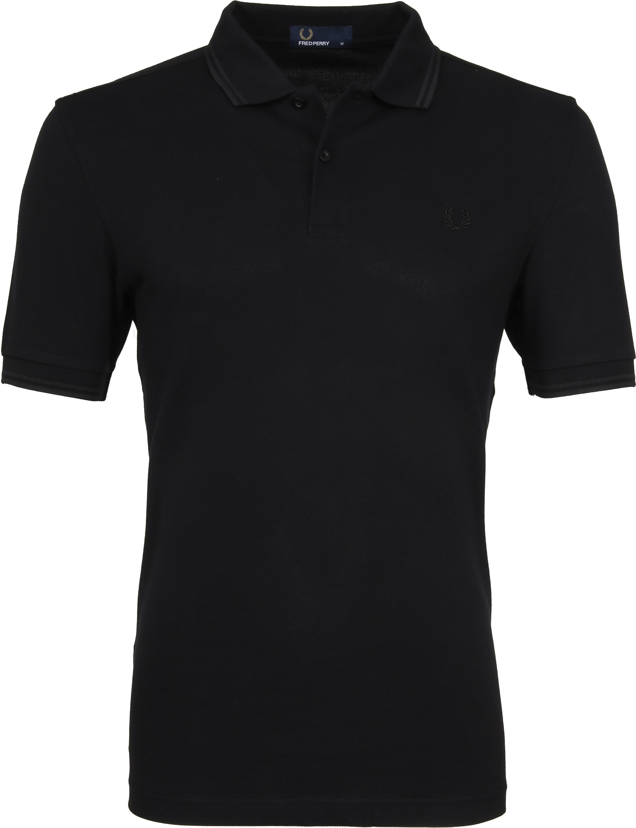 Fred Perry Polo Zwart G32 foto 0
