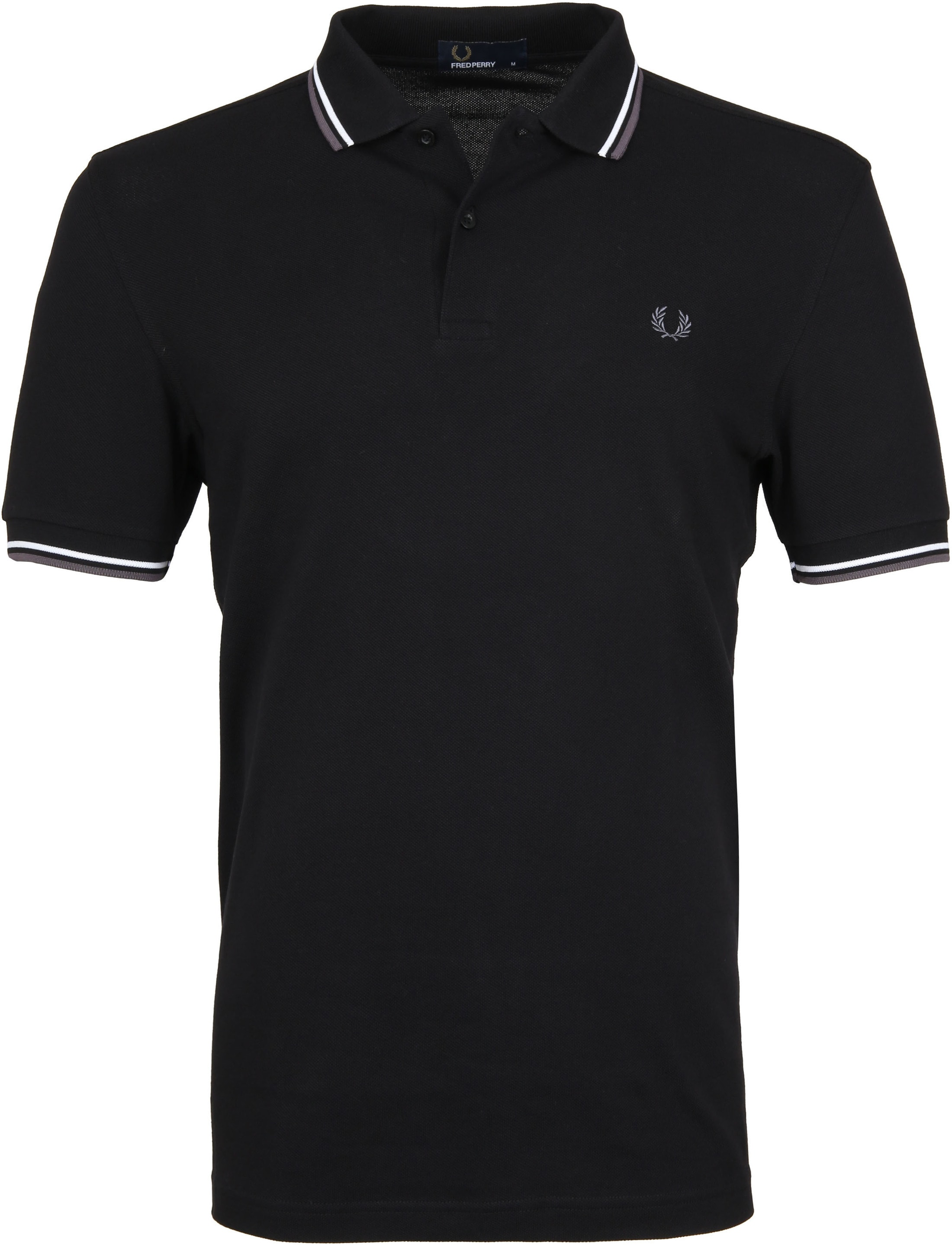 Fred Perry Polo Zwart I04 foto 0