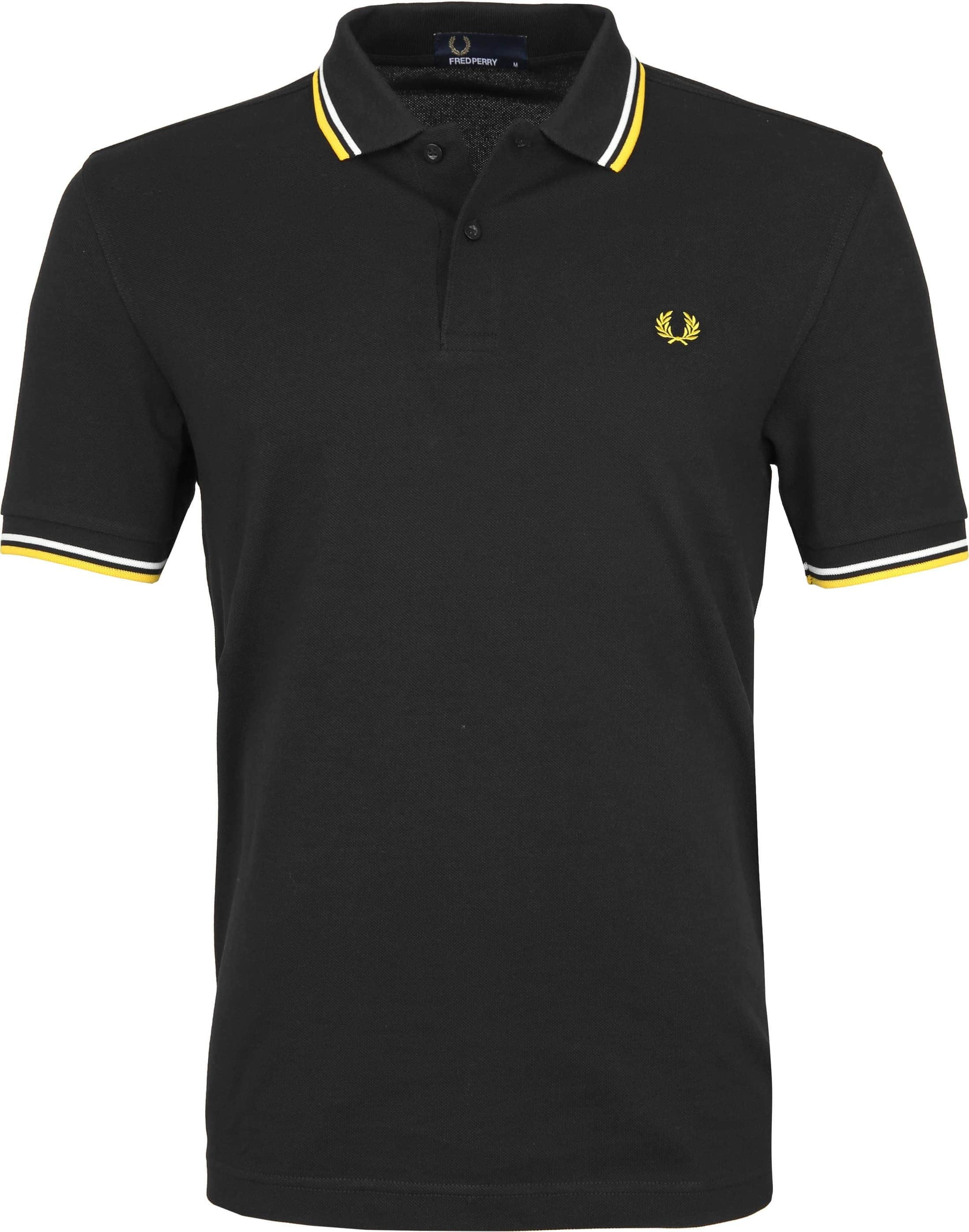 Fred Perry Polo Zwart I70 foto 0