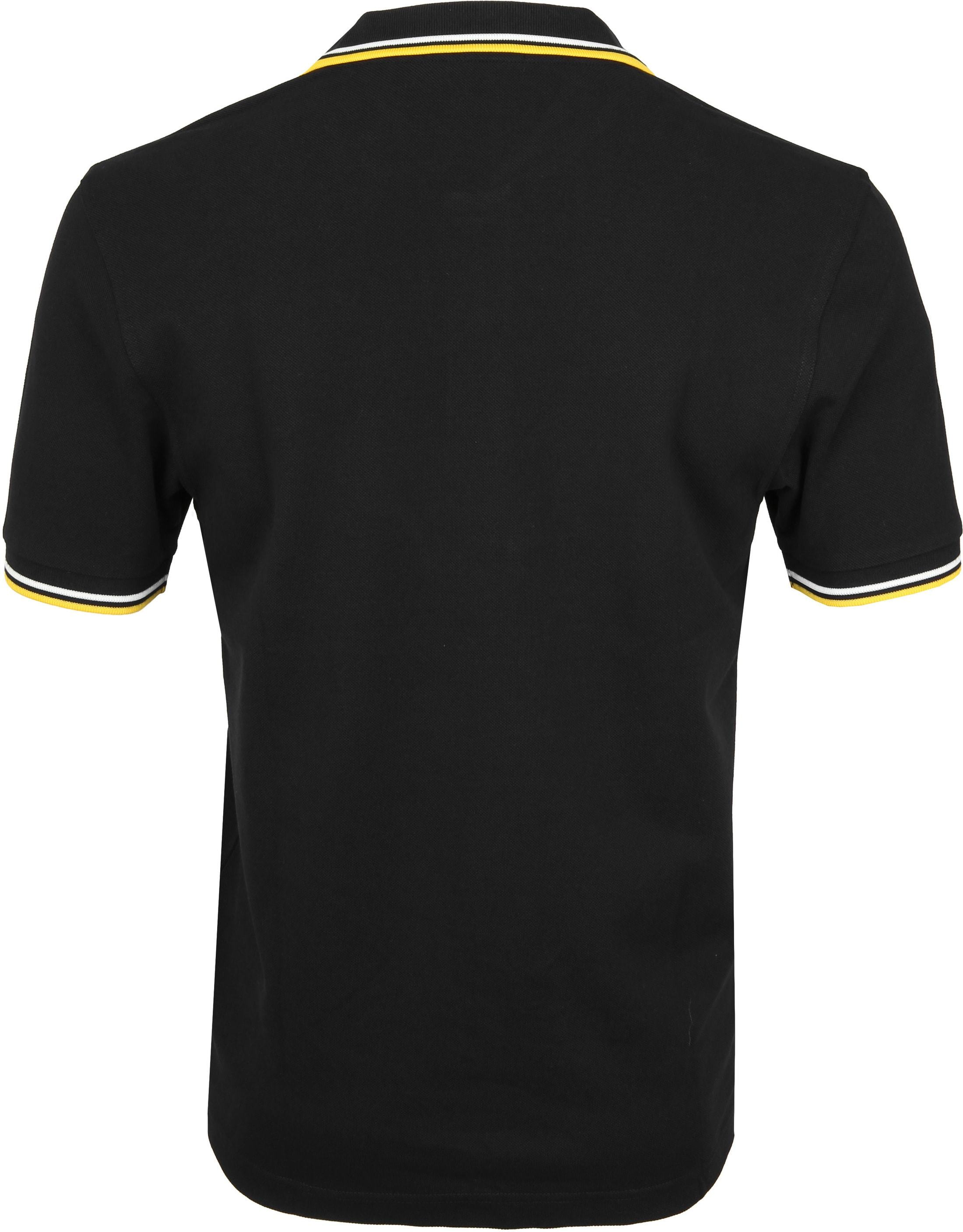 Fred Perry Polo Zwart I70 foto 2