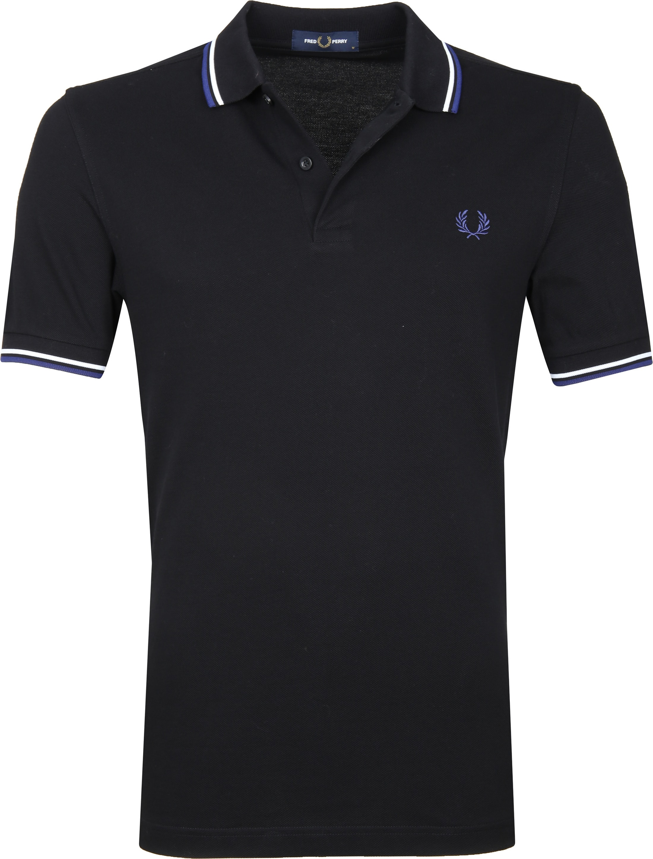 Fred Perry Polo Zwart I76 foto 0