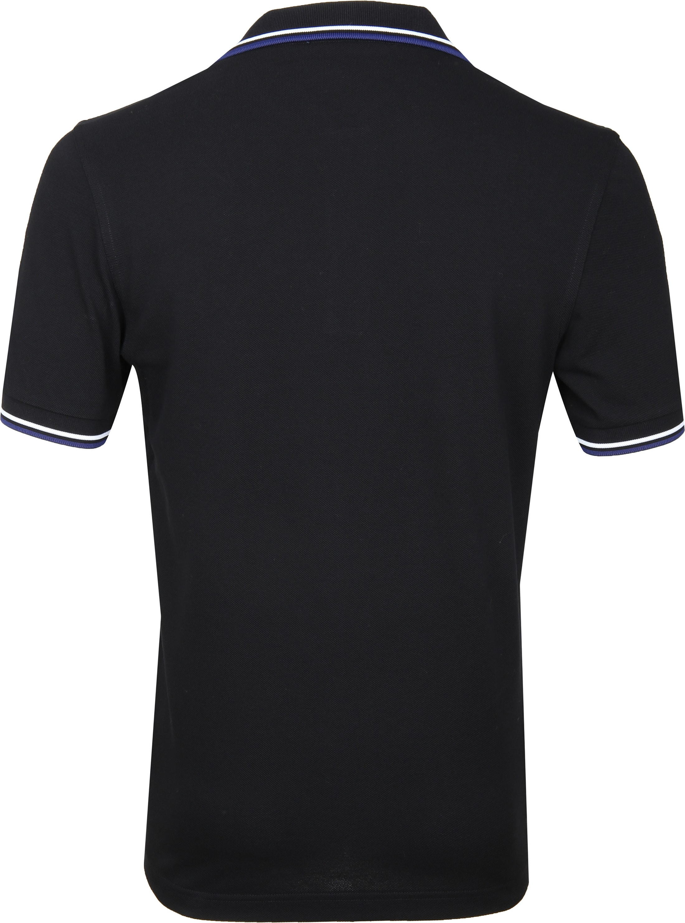 Fred Perry Polo Zwart I76 foto 2