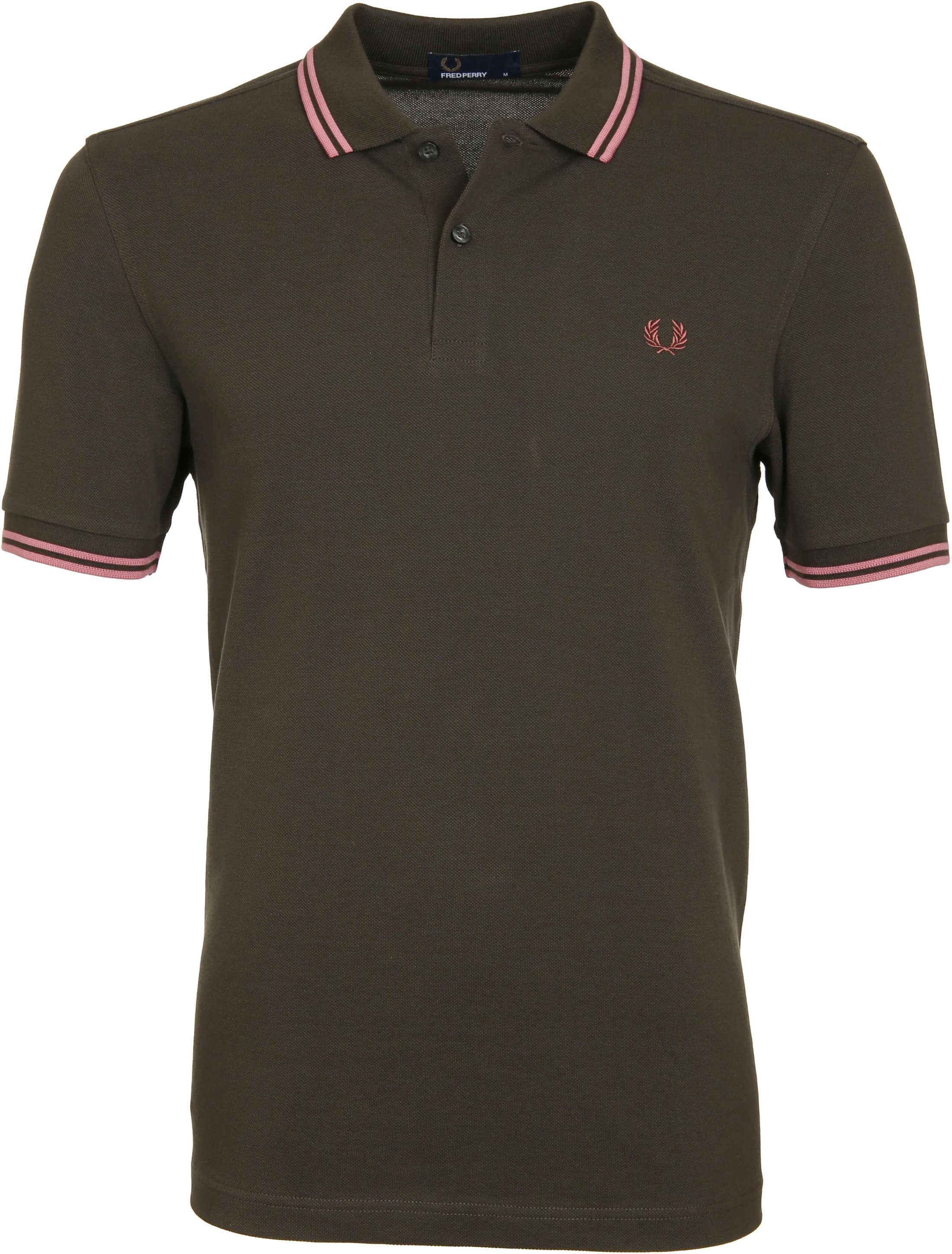 Fred Perry Poloshirt 408 Green foto 0