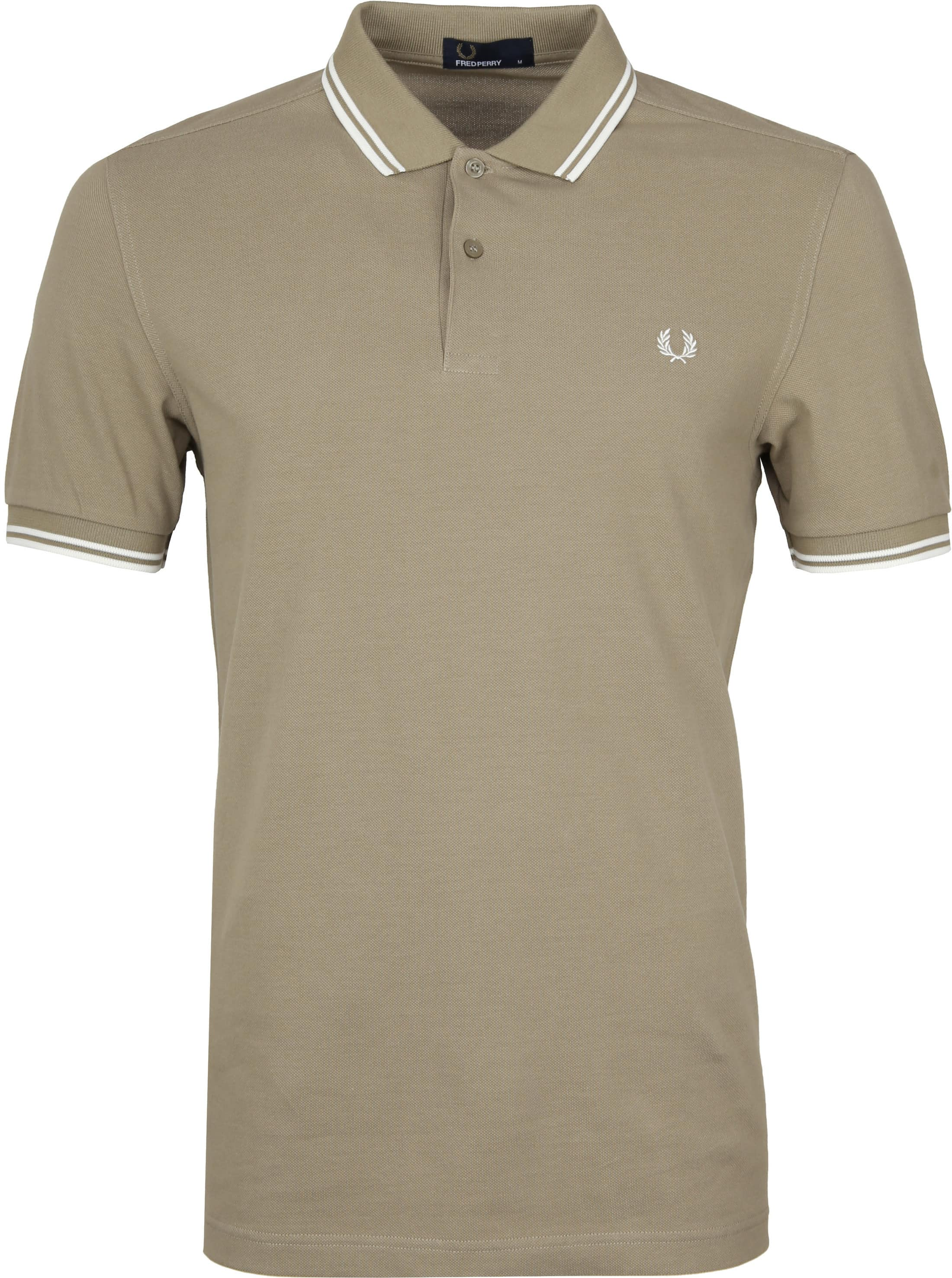 Fred Perry Poloshirt Beige H04 foto 0