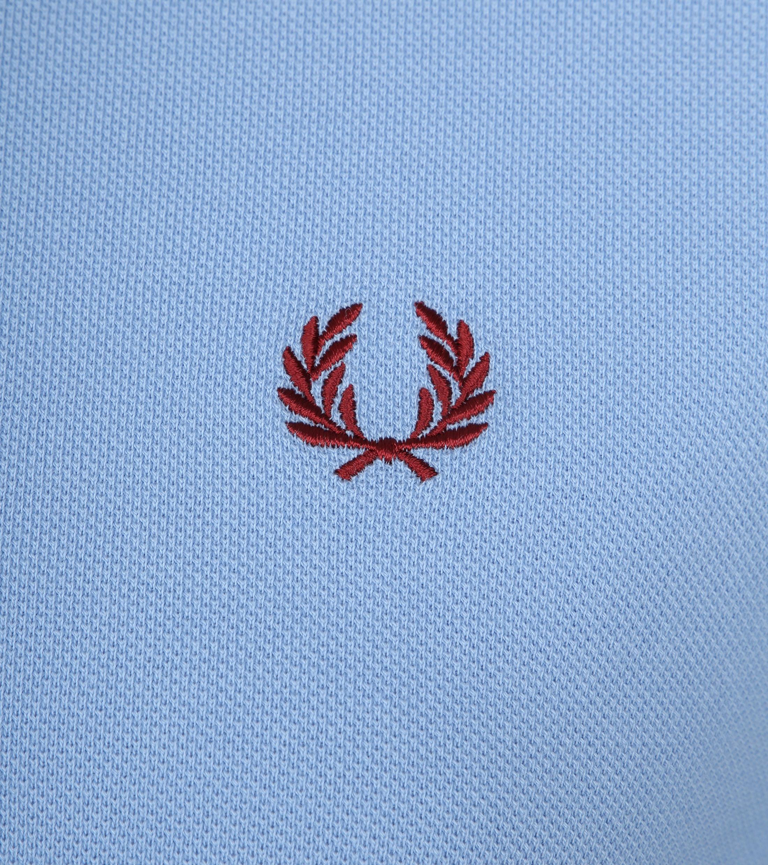 Fred Perry Poloshirt Blau 444 foto 1
