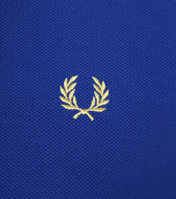 Fred Perry Poloshirt Blau G89 foto 1
