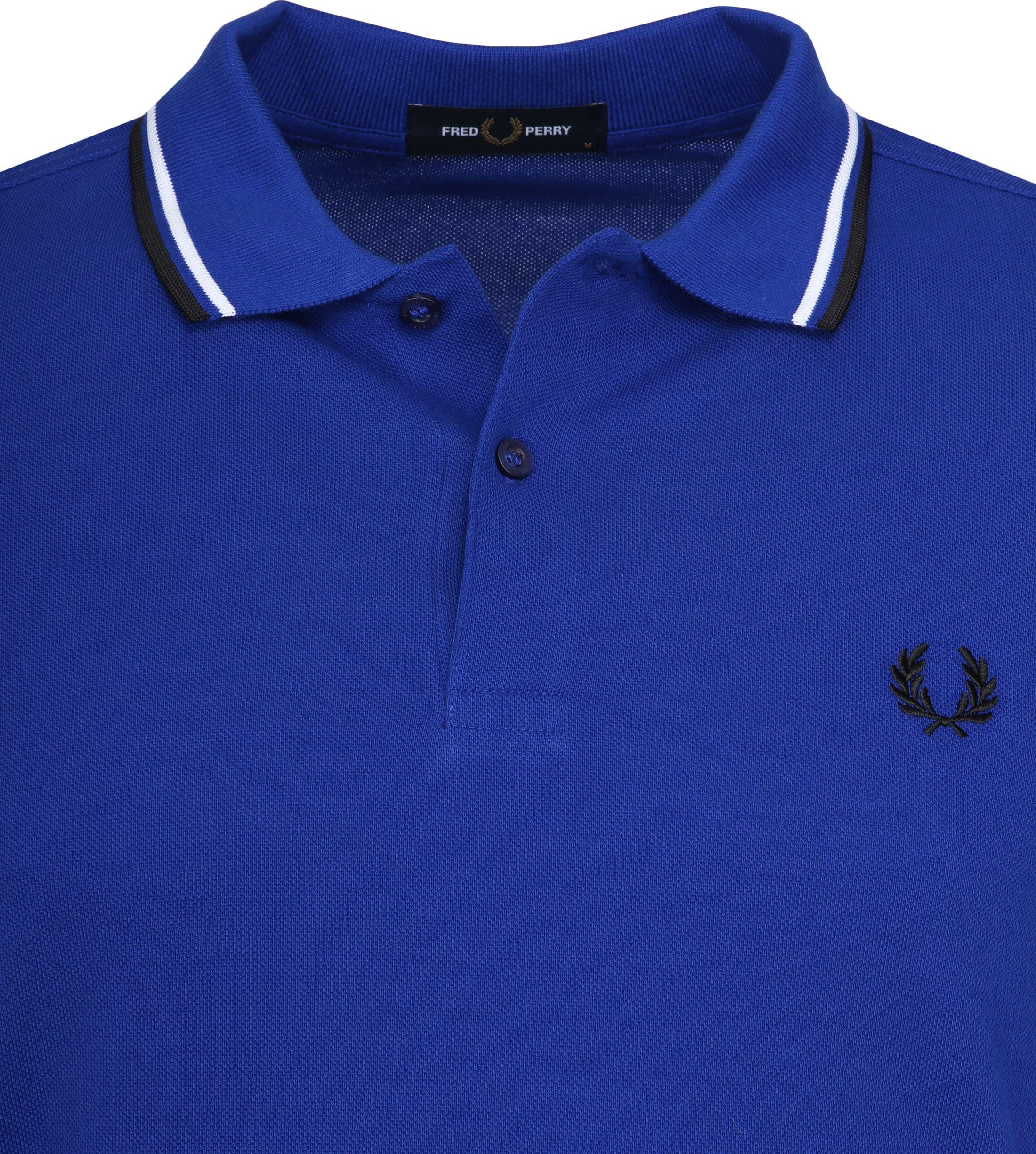 Fred Perry Poloshirt Blau I88 foto 1
