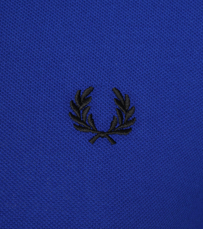 Fred Perry Poloshirt Blau I88 foto 2