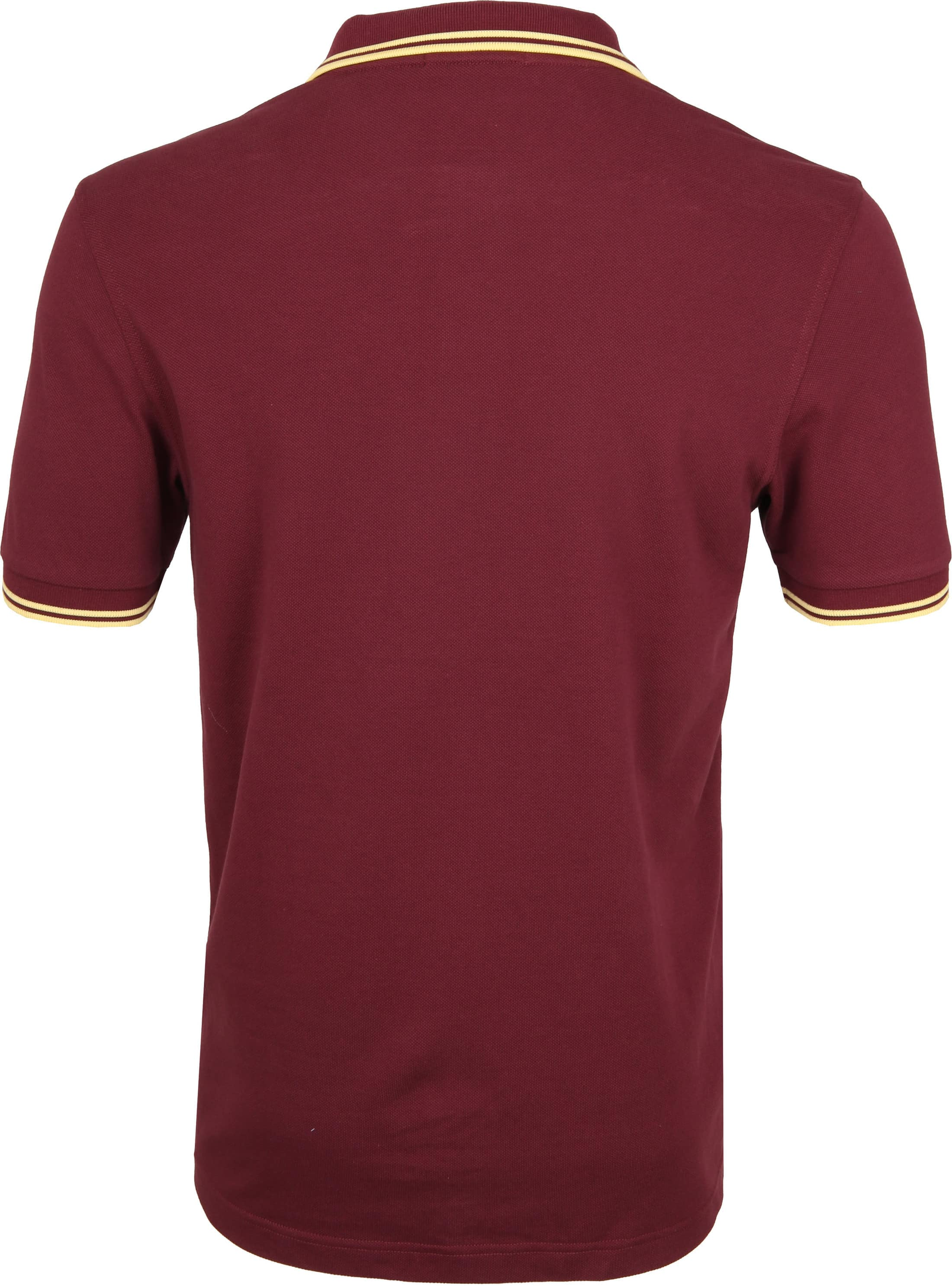 Fred Perry Poloshirt Bordeaux 472 foto 2