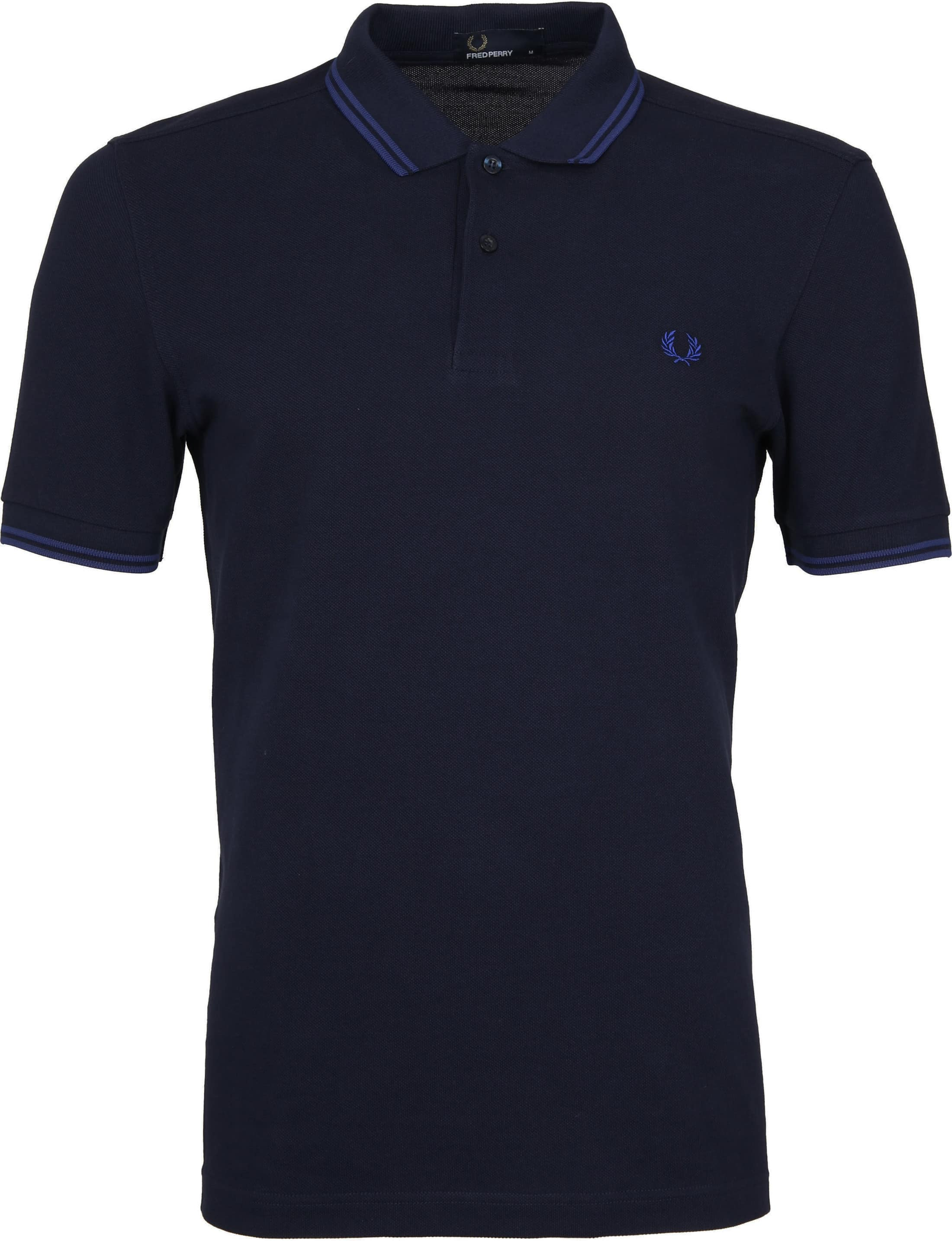 Fred Perry Poloshirt Dark Blue H26 foto 0