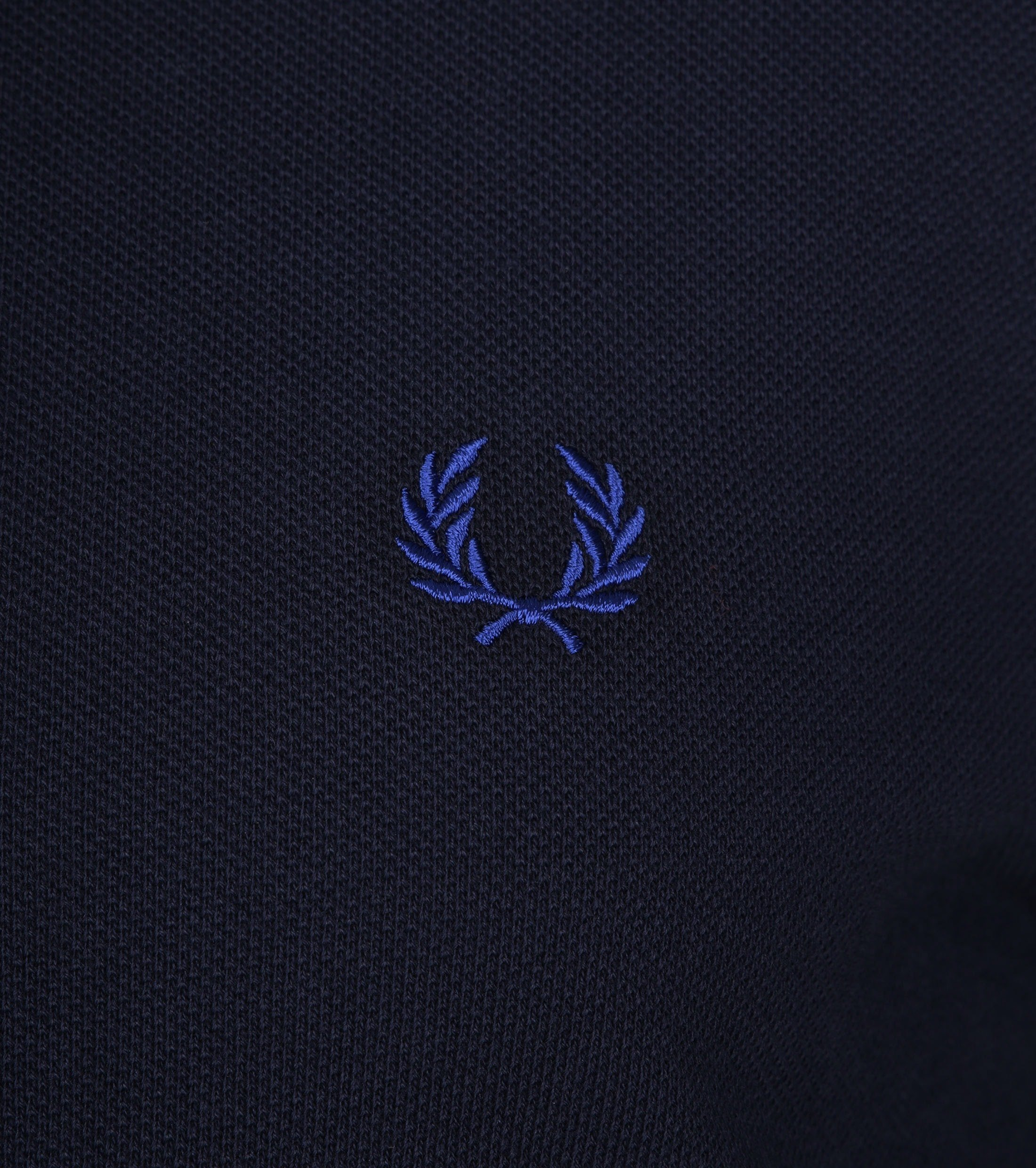 Fred Perry Poloshirt Dark Blue H26 foto 1