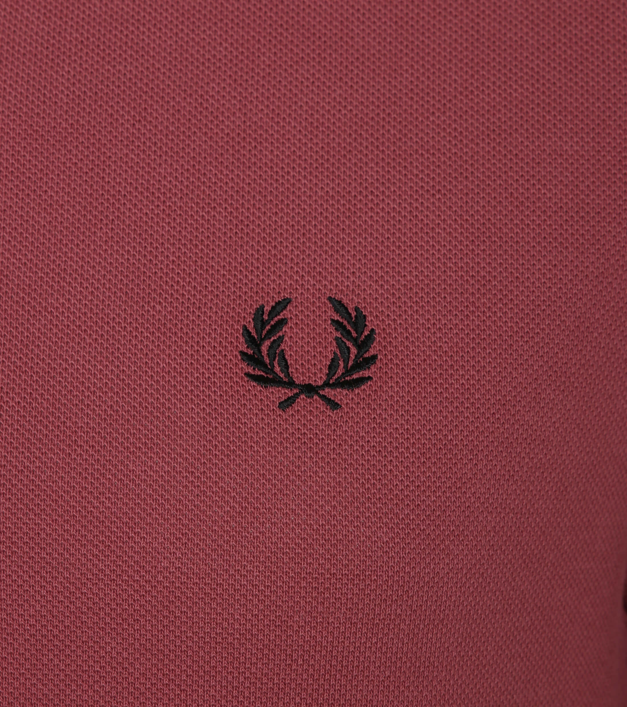 Fred Perry Poloshirt G36 Rot foto 1