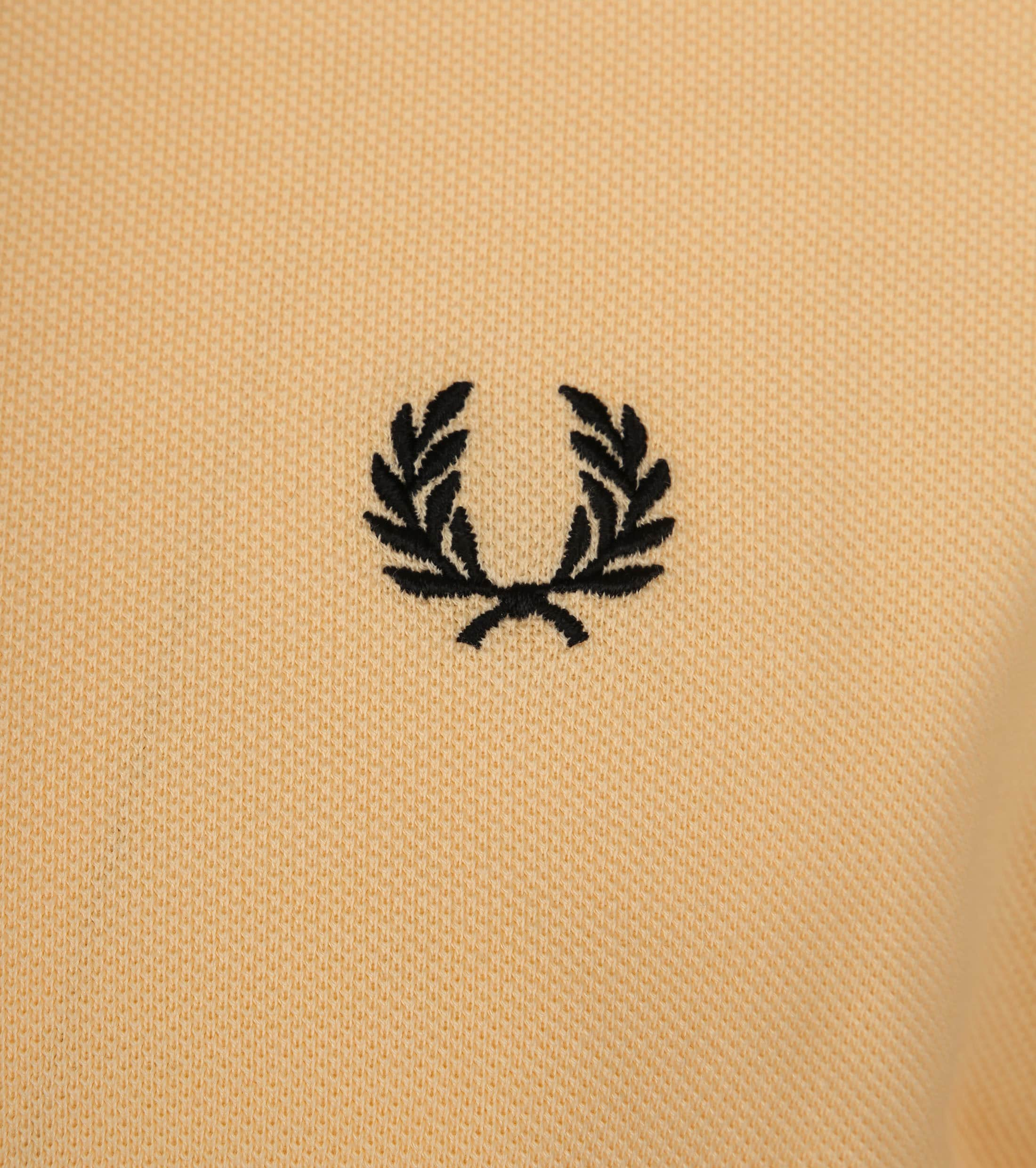 Fred Perry Poloshirt Gelb I07 foto 1