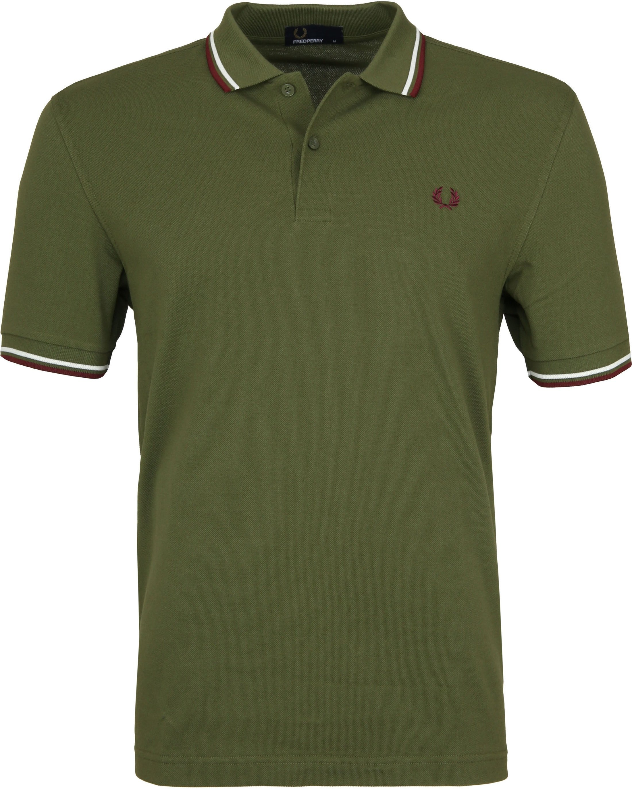 Fred Perry Poloshirt Green H94 foto 0