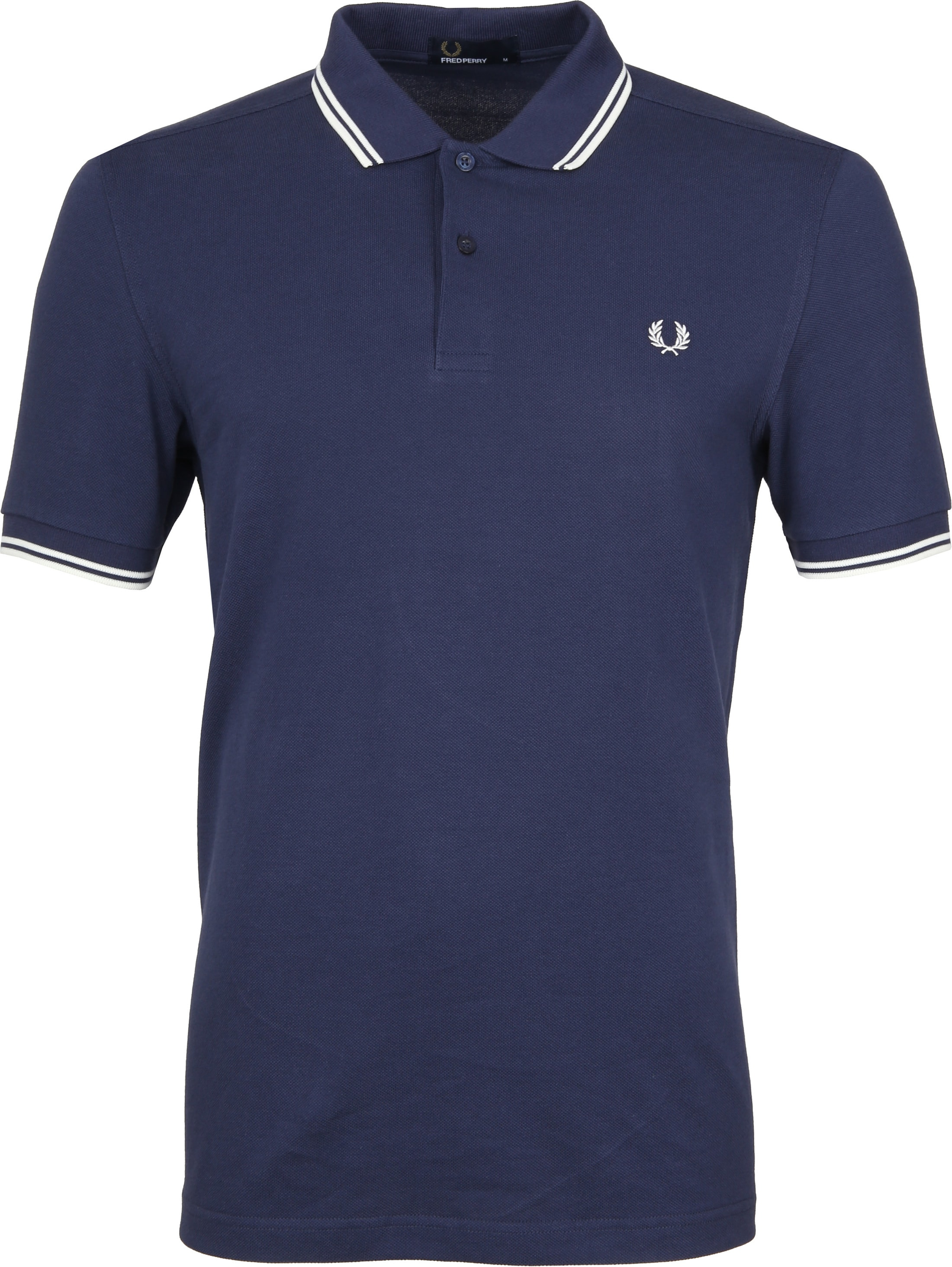 Fred Perry Poloshirt Navy H39 foto 0