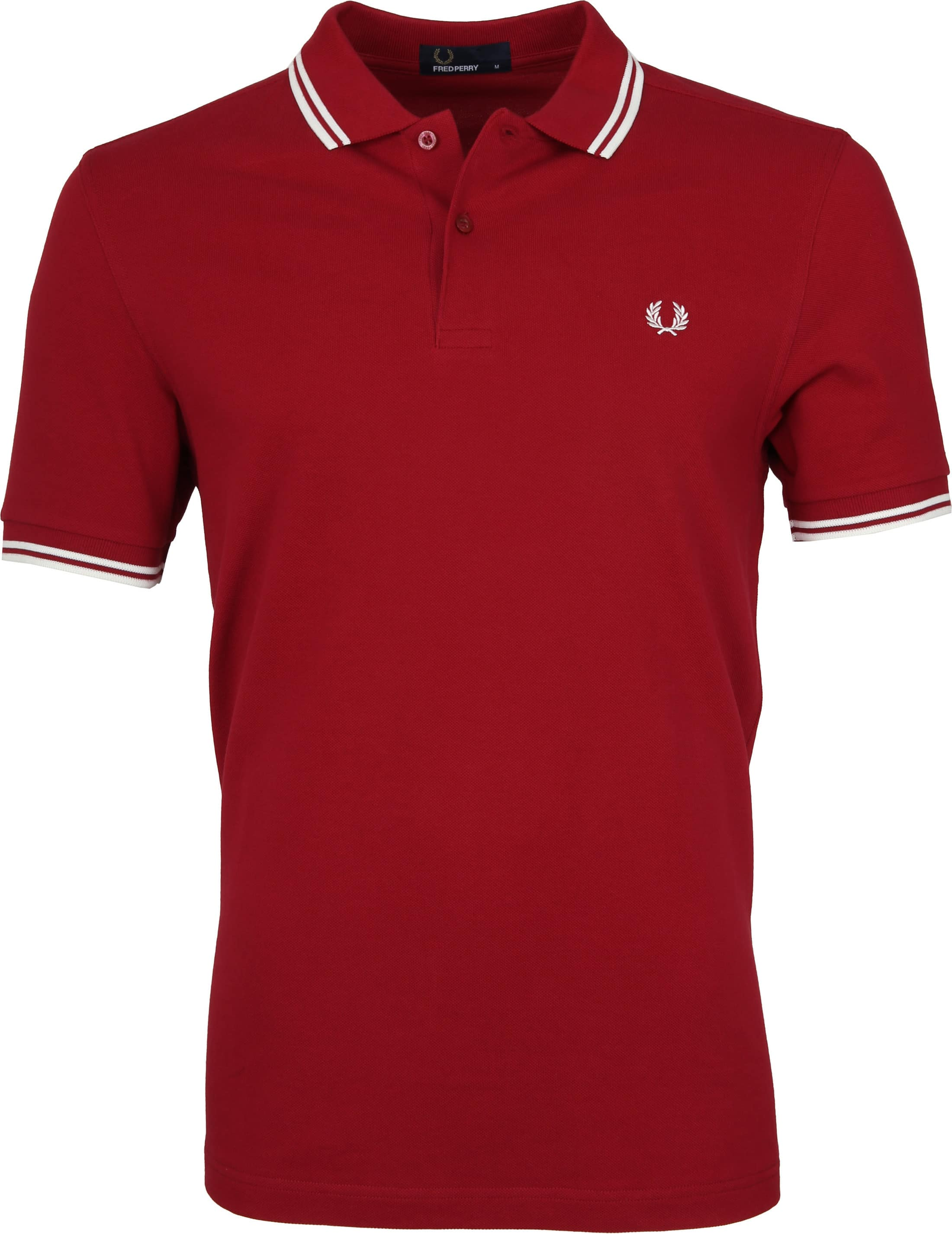 Fred Perry Poloshirt Red D75 foto 0