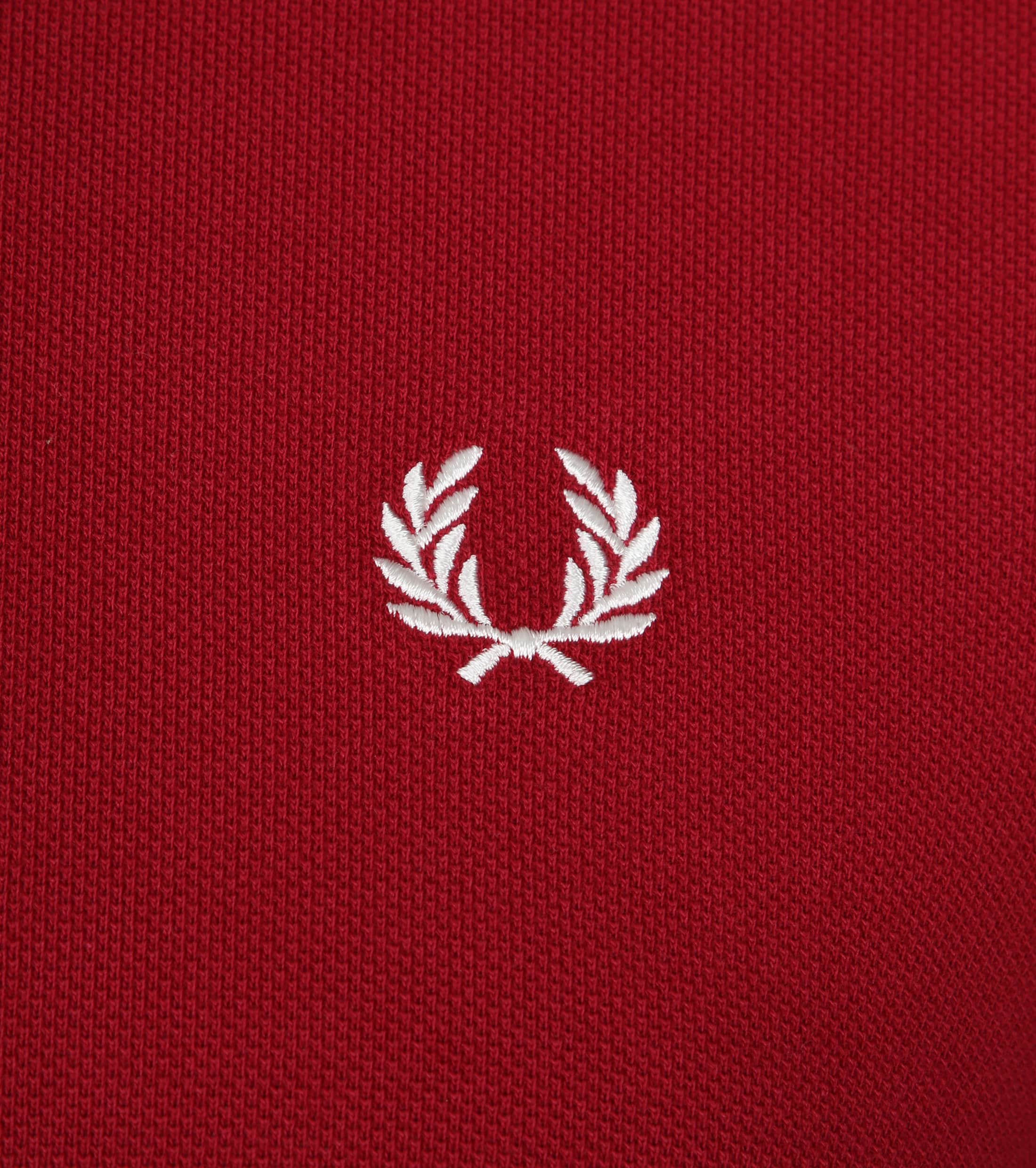 Fred Perry Poloshirt Red D75 foto 1