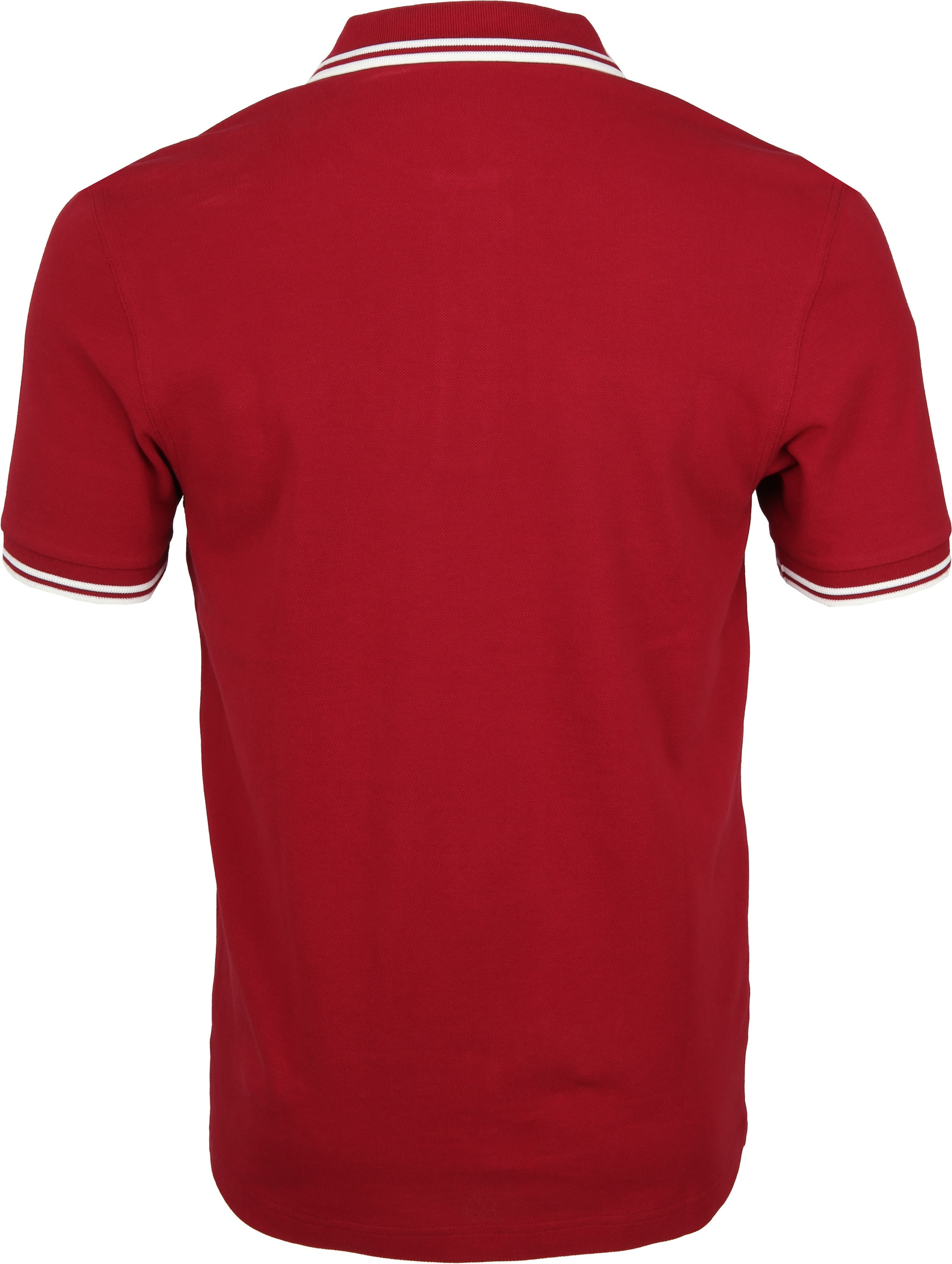 Fred Perry Poloshirt Red D75 foto 2