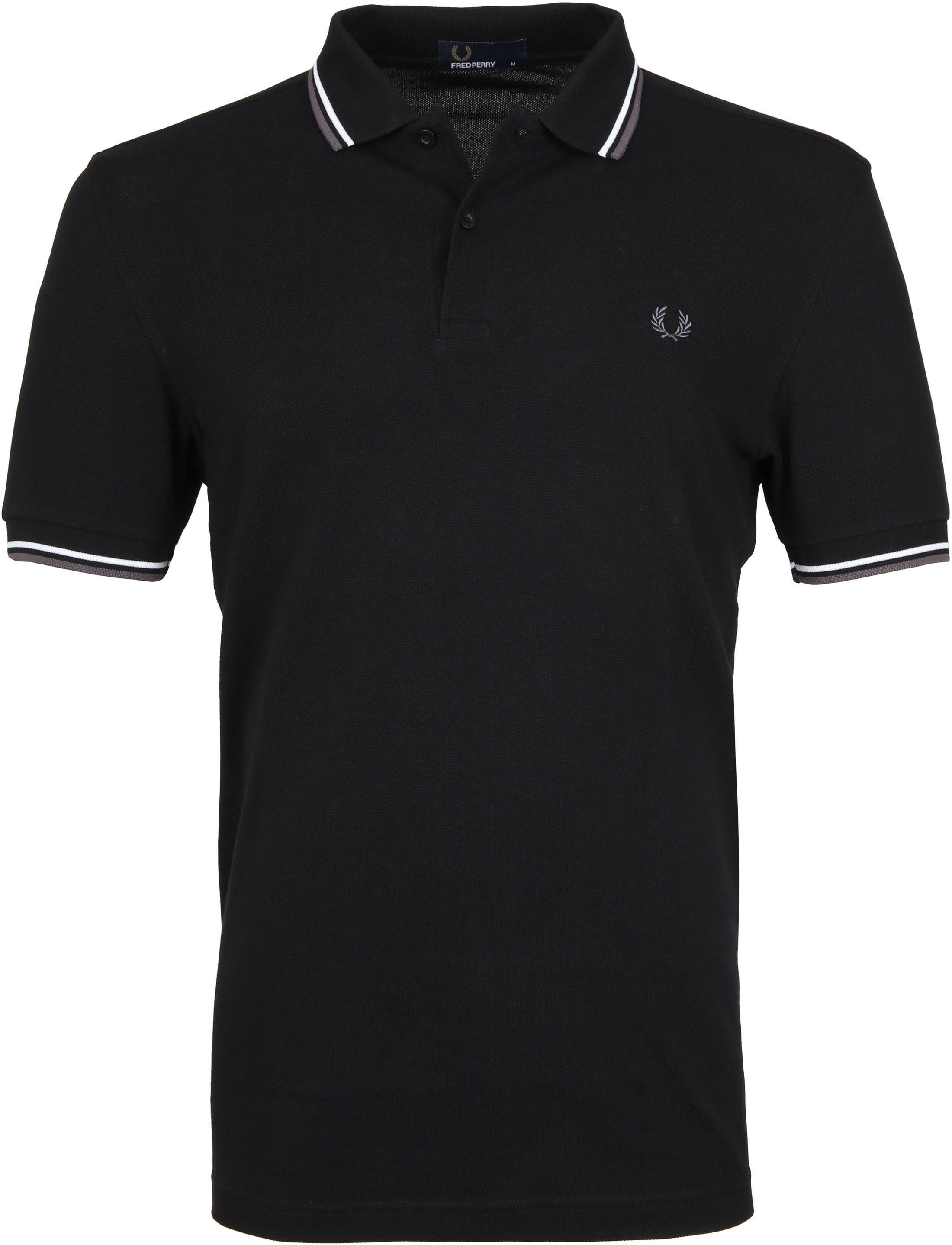 Fred Perry Poloshirt Schwarz I04 M3600 I04 Black online  großer Rabatt
