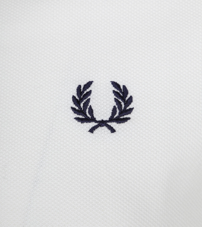 Fred Perry Poloshirt Weiß I01 foto 1