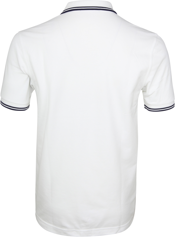 Fred Perry Poloshirt Weiß I01 foto 2