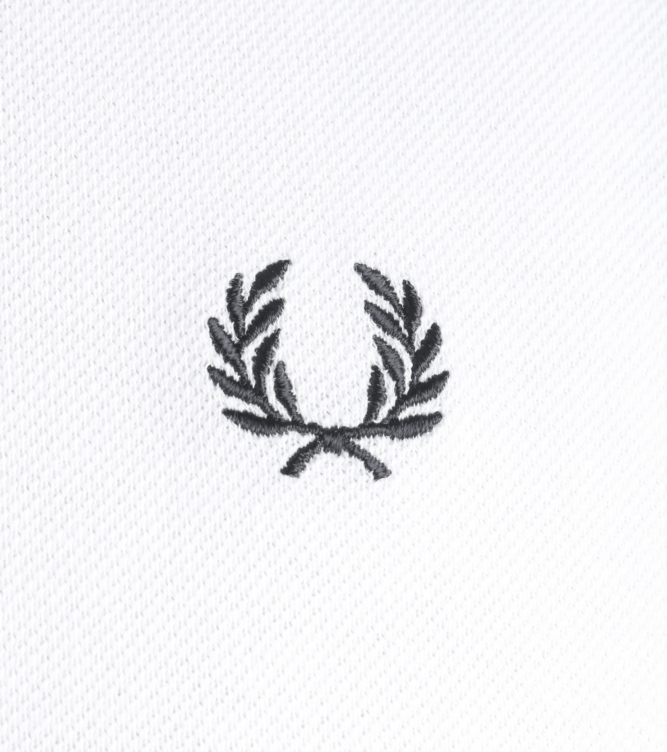 Fred Perry Poloshirt Wit foto 1