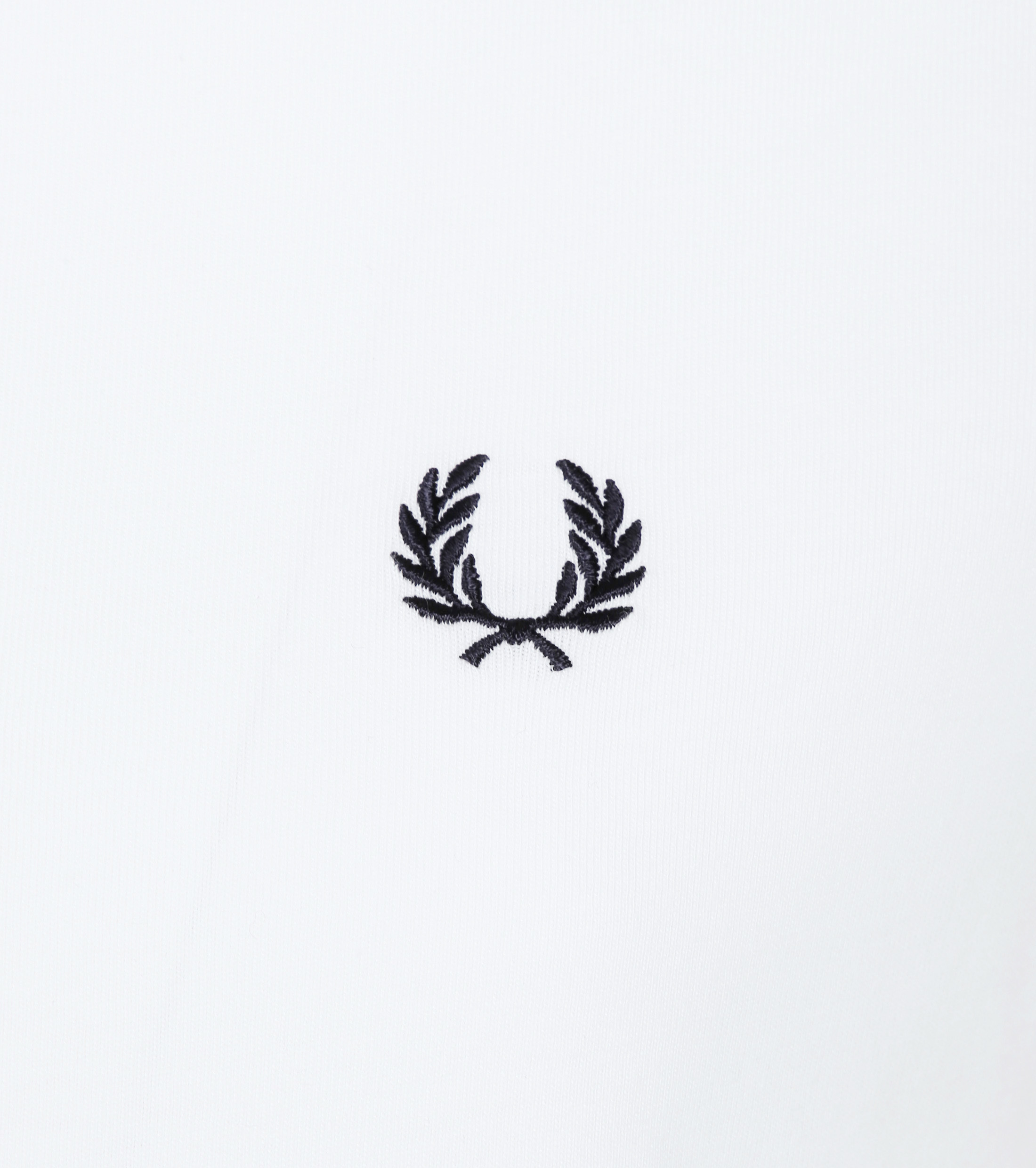 Fred Perry Ringer T-Shirt Wit foto 1